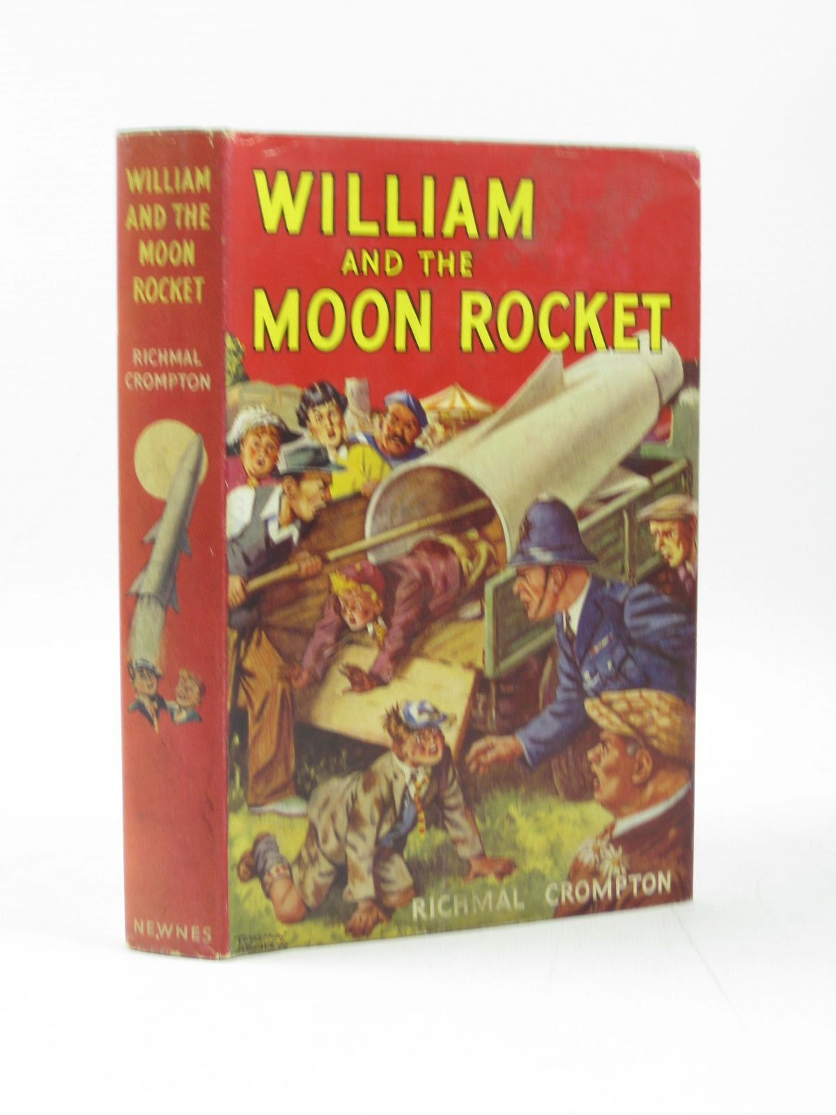 Photo of WILLIAM AND THE MOON ROCKET- Stock Number: 1503784