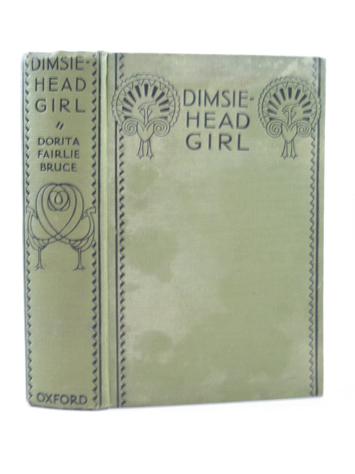 Photo of DIMSIE HEAD GIRL written by Bruce, Dorita Fairlie illustrated by Reeve, Mary Strange published by Humphrey Milford, Oxford University Press (STOCK CODE: 1503792)  for sale by Stella & Rose's Books