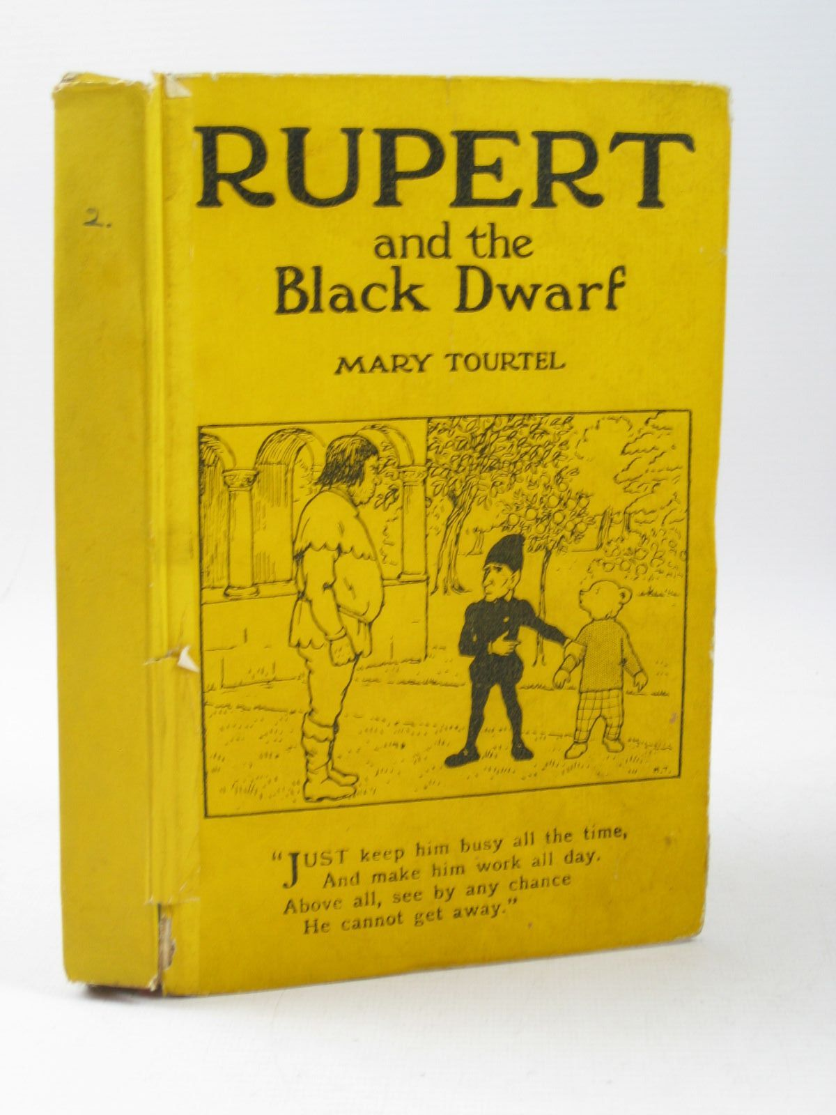 Photo of RUPERT AND THE BLACK DWARF - RUPERT LITTLE BEAR LIBRARY No. 2 written by Tourtel, Mary illustrated by Tourtel, Mary published by Sampson Low, Marston & Co. Ltd. (STOCK CODE: 1503912)  for sale by Stella & Rose's Books