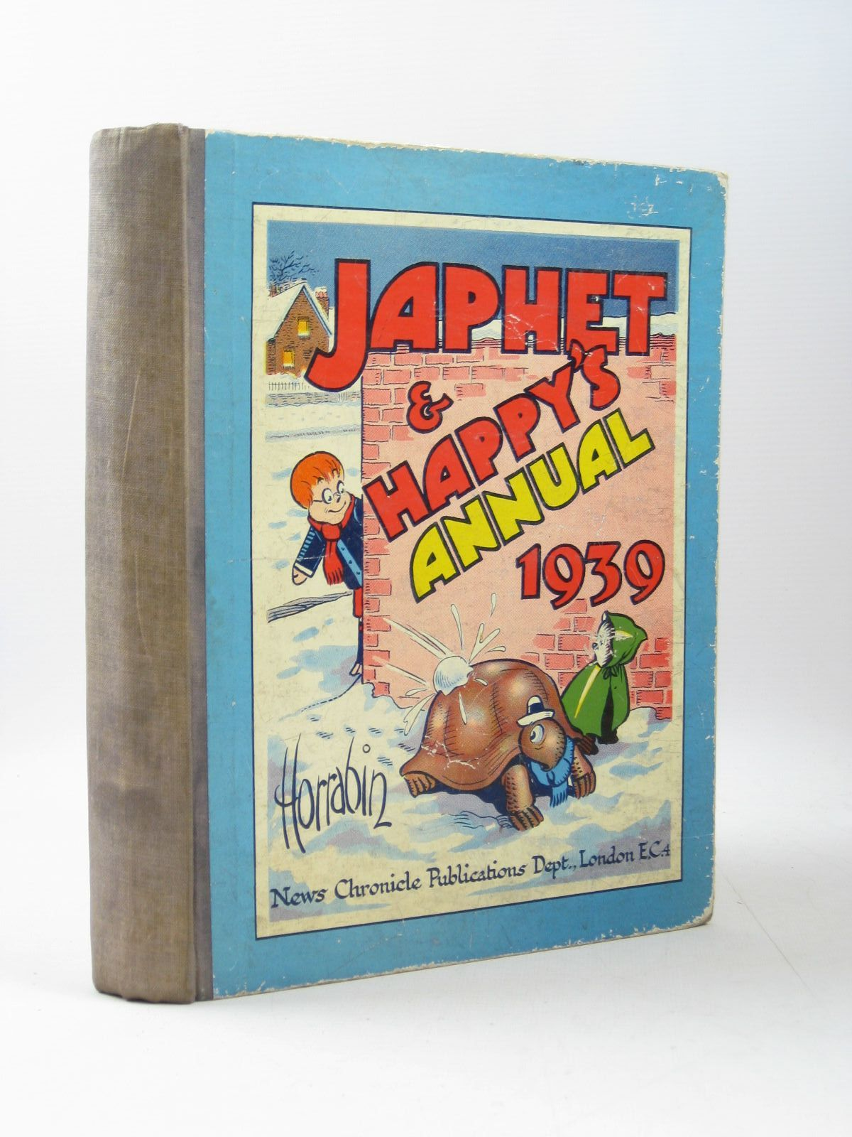 Photo of JAPHET AND HAPPY'S ANNUAL 1939 written by Horrabin, J.F. illustrated by Horrabin, J.F. published by News Chronicle Publications (STOCK CODE: 1503941)  for sale by Stella & Rose's Books