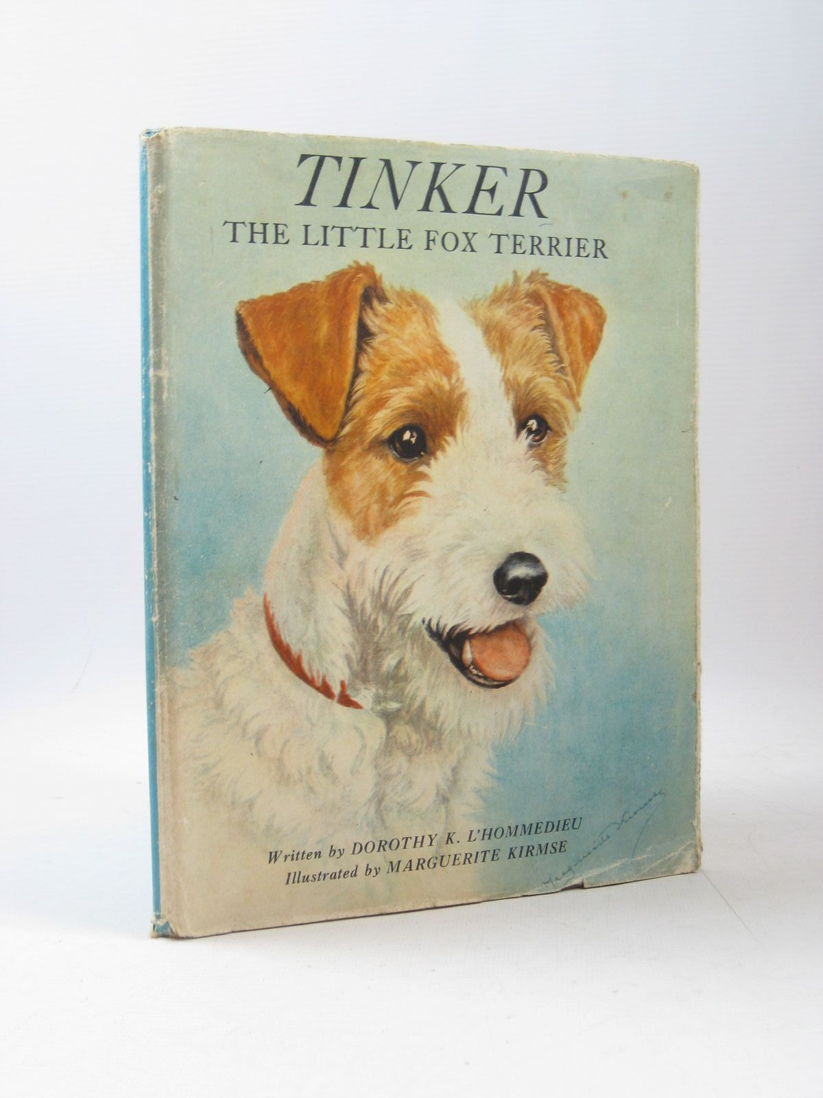 Photo of TINKER THE LITTLE FOX TERRIER written by L'Hommedieu, Dorothy K. illustrated by Kirmse, Marguerite published by J.B. Lippincott Company (STOCK CODE: 1503945)  for sale by Stella & Rose's Books
