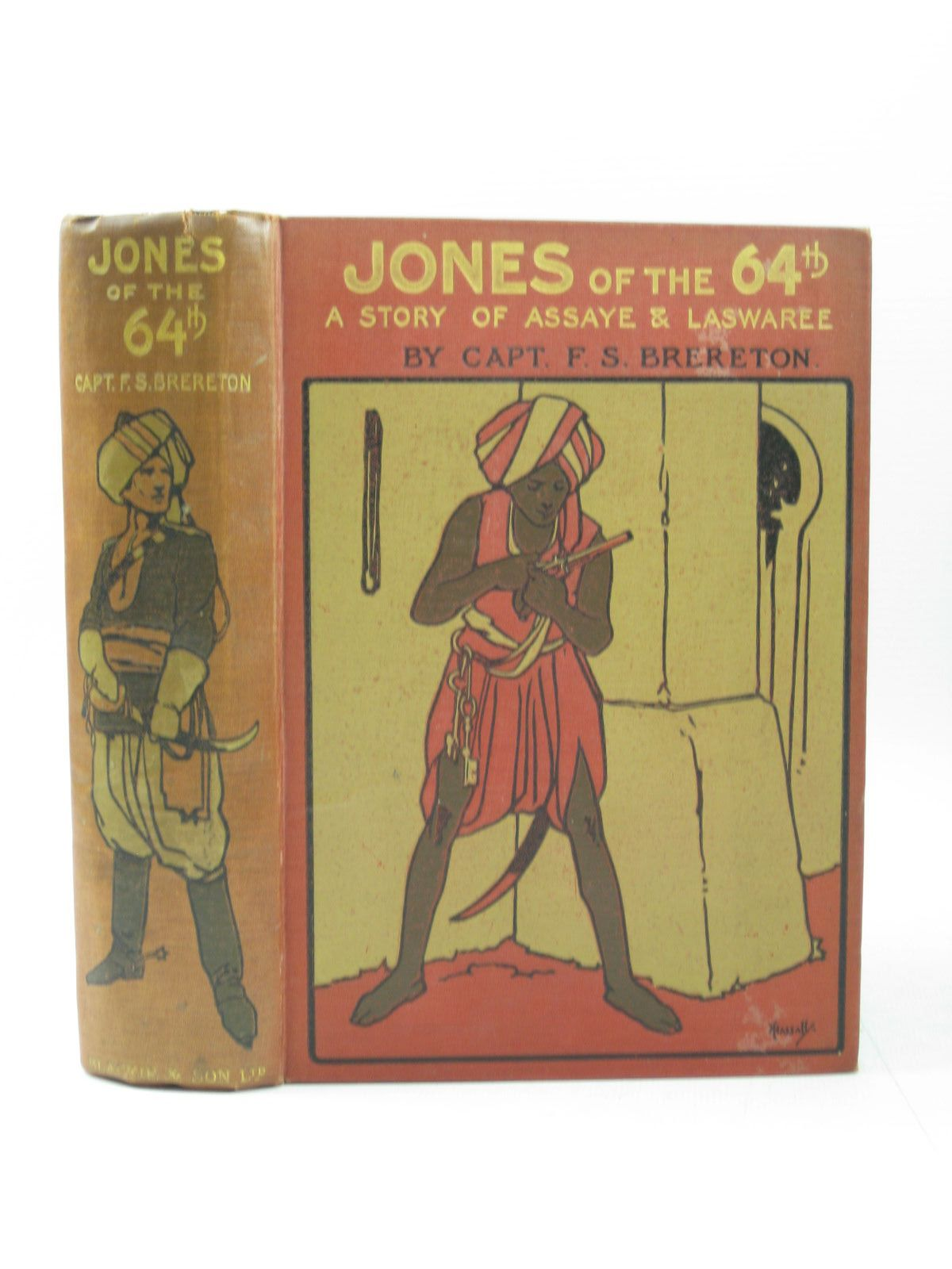 Photo of JONES OF THE 64TH written by Brereton, F.S. illustrated by Rainey, W. published by Blackie & Son Ltd. (STOCK CODE: 1504030)  for sale by Stella & Rose's Books