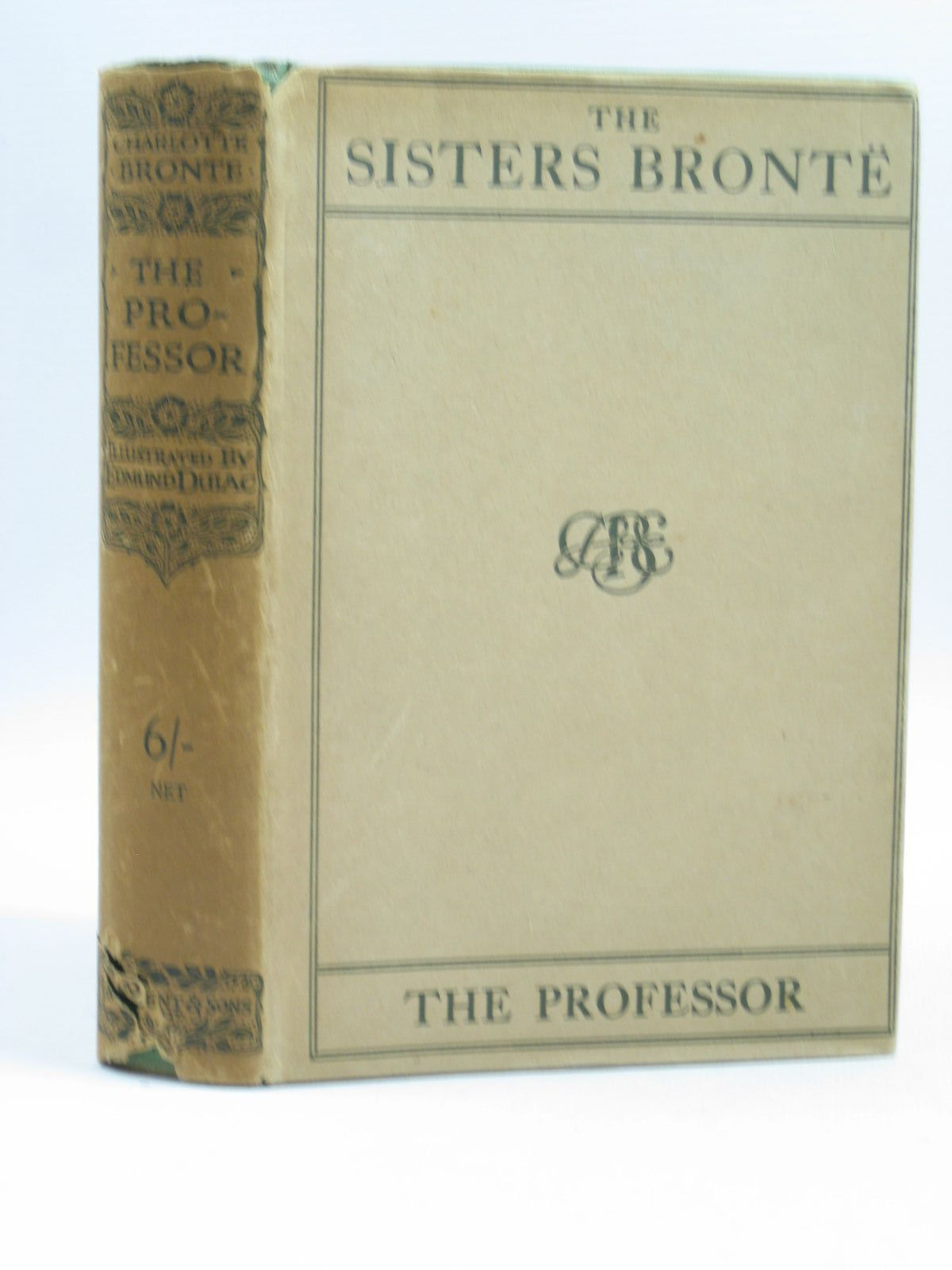 Photo of THE PROFESSOR written by Bronte, Charlotte illustrated by Dulac, Edmund published by J.M. Dent & Sons Ltd. (STOCK CODE: 1504085)  for sale by Stella & Rose's Books