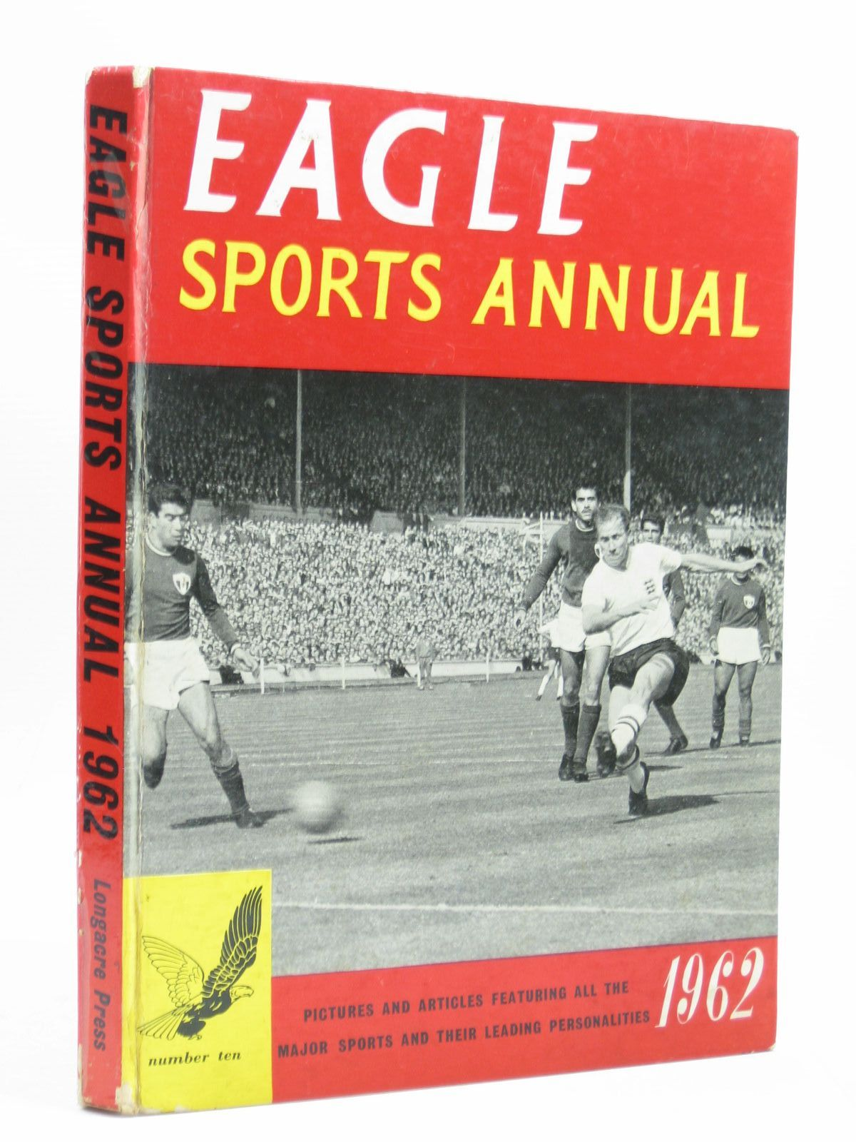 Photo of EAGLE SPORTS ANNUAL 1962 published by Longacre Press (STOCK CODE: 1504129)  for sale by Stella & Rose's Books