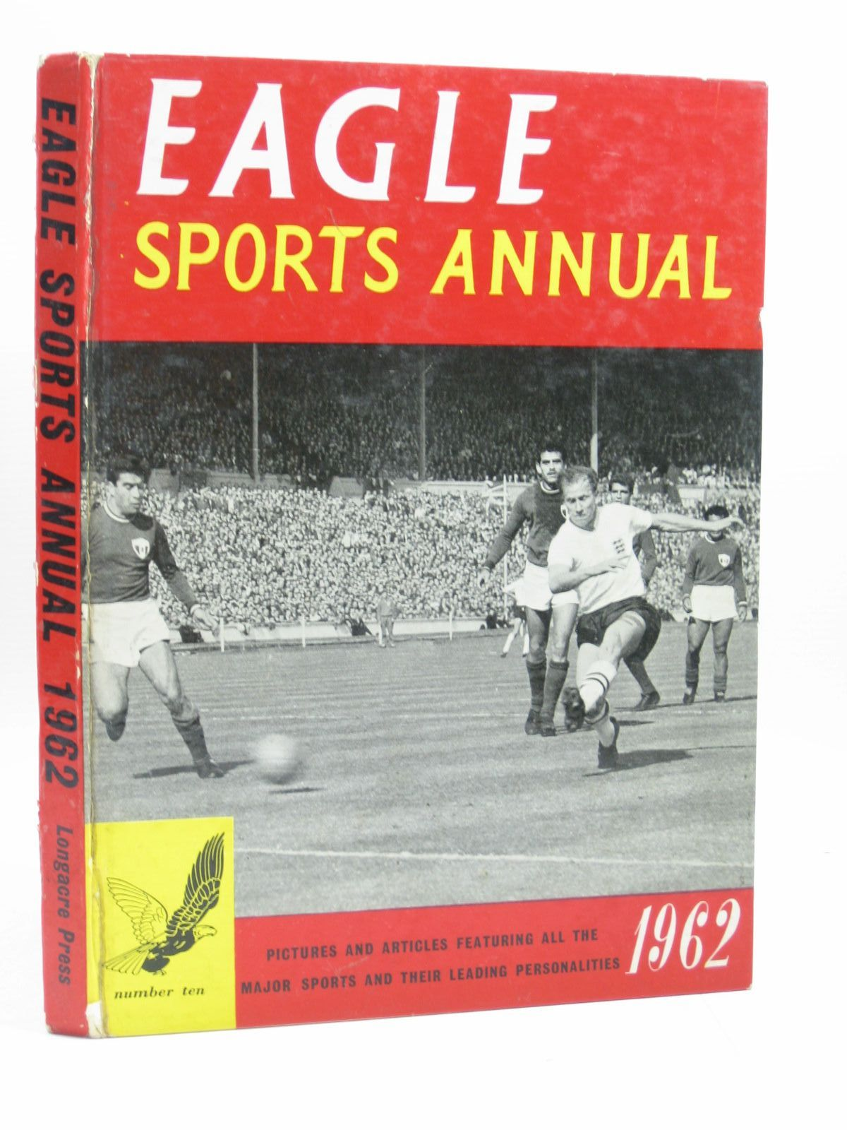 Photo of EAGLE SPORTS ANNUAL 1962 published by Longacre Press (STOCK CODE: 1504131)  for sale by Stella & Rose's Books