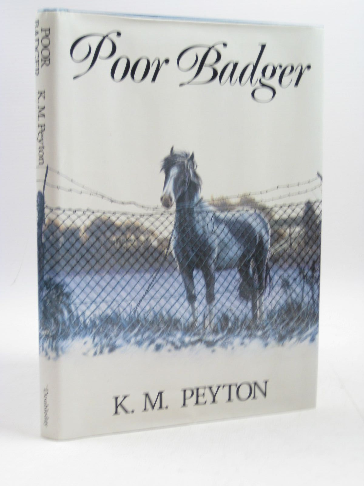 Photo of POOR BADGER written by Peyton, K.M. illustrated by Lonsdale, Mary published by Doubleday (STOCK CODE: 1504163)  for sale by Stella & Rose's Books