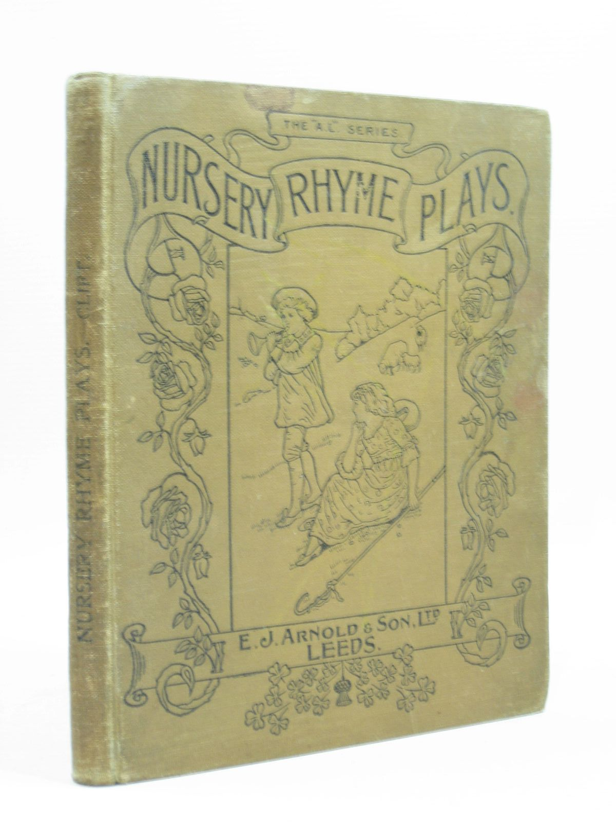 Photo of NURSERY RHYME PLAYS written by Clift, Bessie H. published by E.J. Arnold & Son Ltd. (STOCK CODE: 1504203)  for sale by Stella & Rose's Books