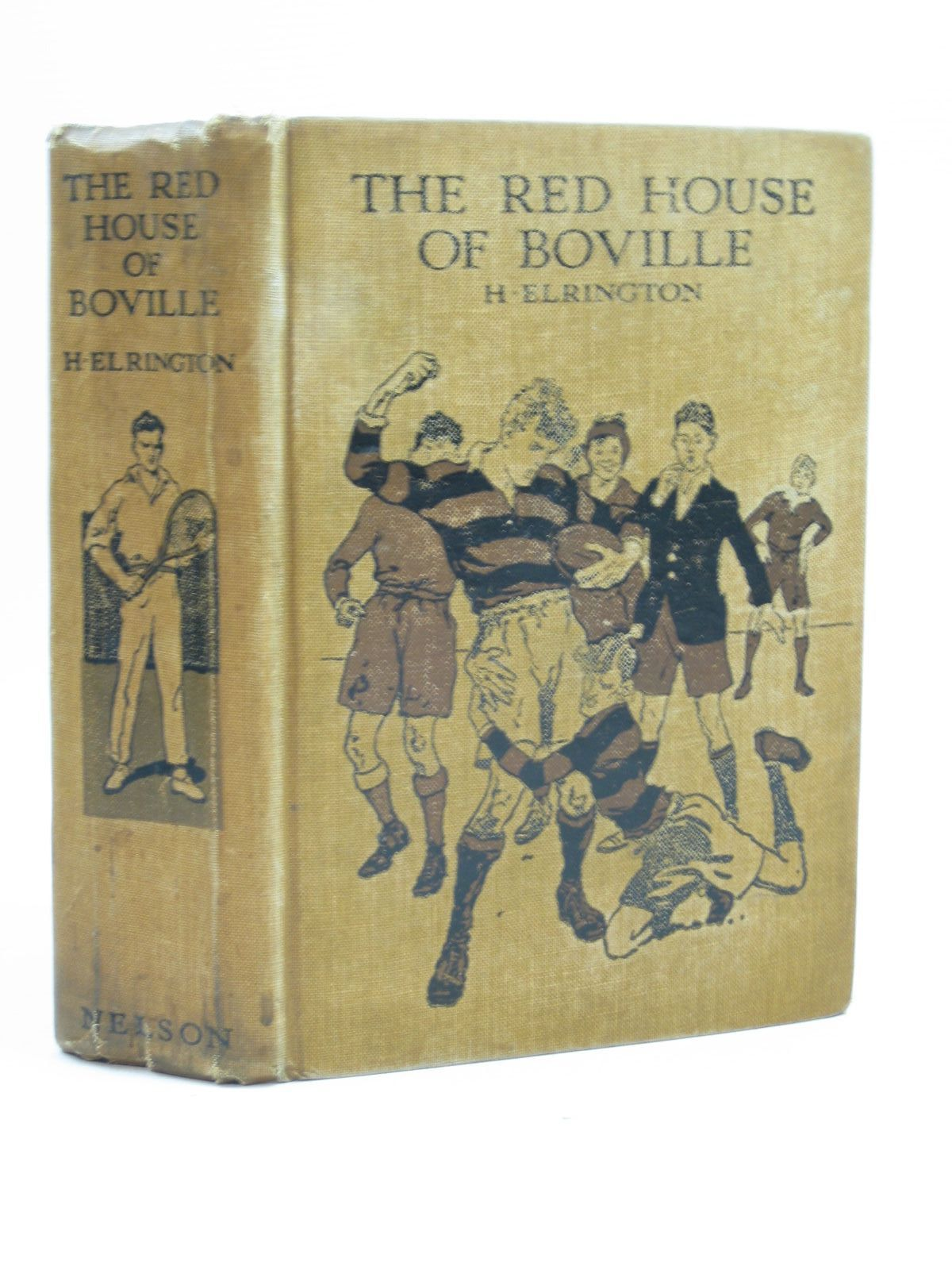 Photo of THE RED HOUSE OF BOVILLE written by Elrington, H. published by Thomas Nelson and Sons Ltd. (STOCK CODE: 1504221)  for sale by Stella & Rose's Books