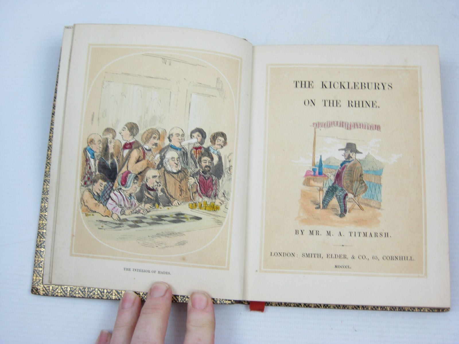 Photo of THE KICKLEBURYS ON THE RHINE written by Titmarsh, M.A. published by Smith, Elder & Co. (STOCK CODE: 1504364)  for sale by Stella & Rose's Books