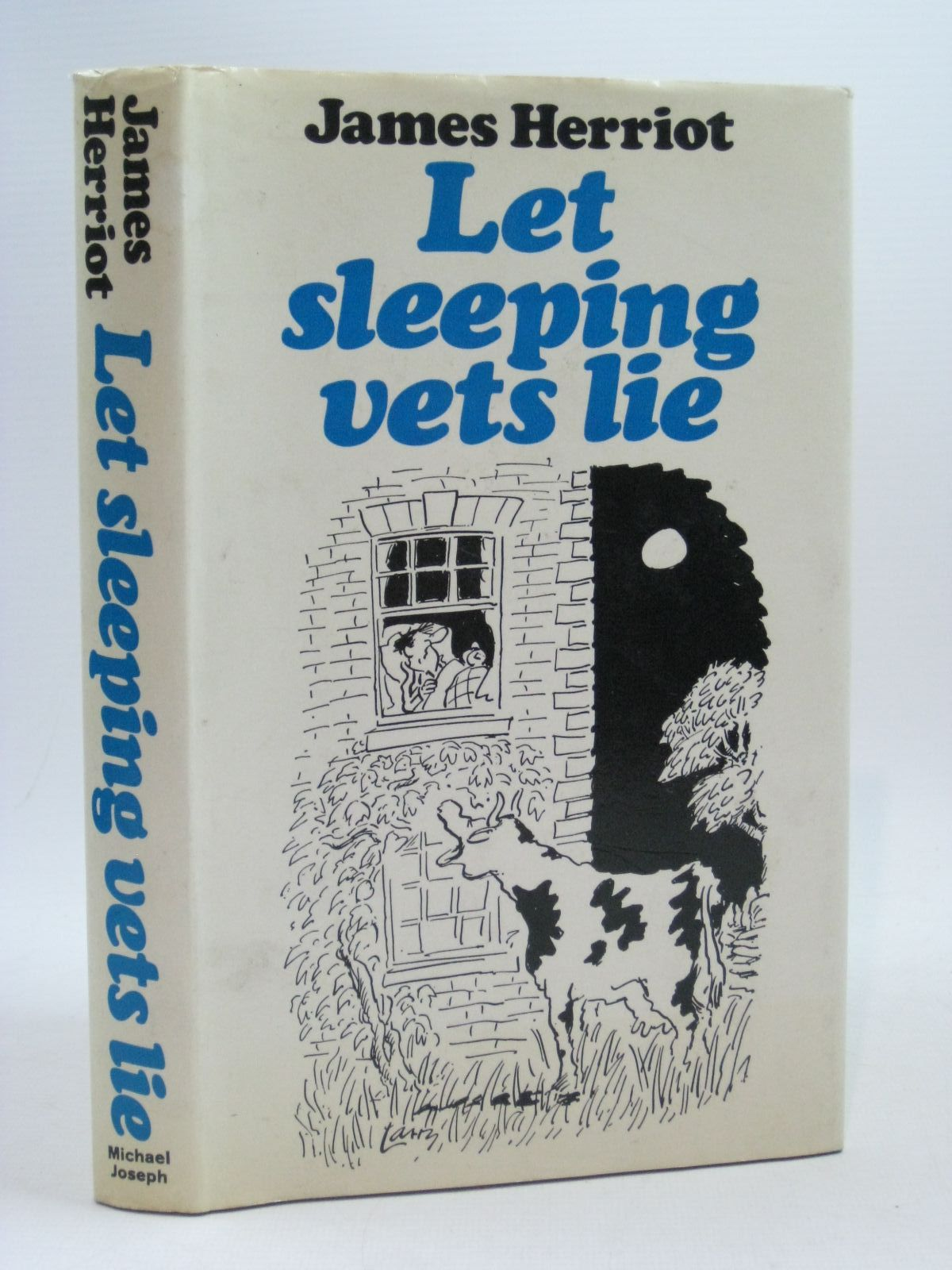 Photo of LET SLEEPING VETS LIE written by Herriot, James illustrated by Larry,  published by Michael Joseph (STOCK CODE: 1504463)  for sale by Stella & Rose's Books