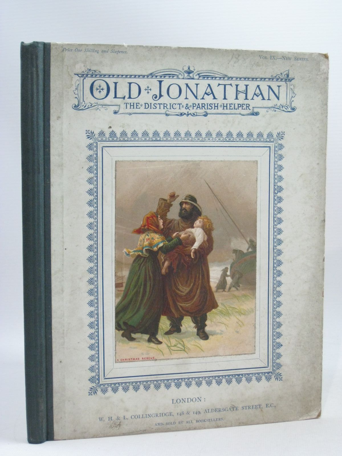 Photo of OLD JONATHAN VOL IX JAN - DEC 1884 published by W.H. & L. Collingridge (STOCK CODE: 1504493)  for sale by Stella & Rose's Books