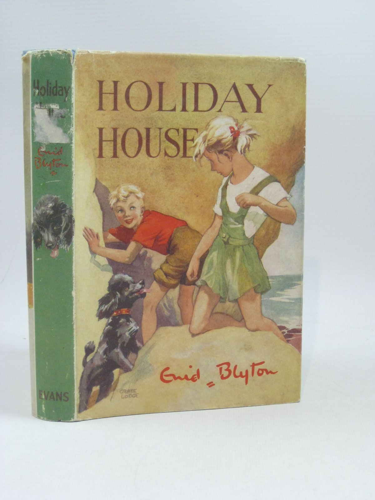 Photo of HOLIDAY HOUSE written by Blyton, Enid illustrated by Lodge, Grace published by Evans Brothers Limited (STOCK CODE: 1504521)  for sale by Stella & Rose's Books