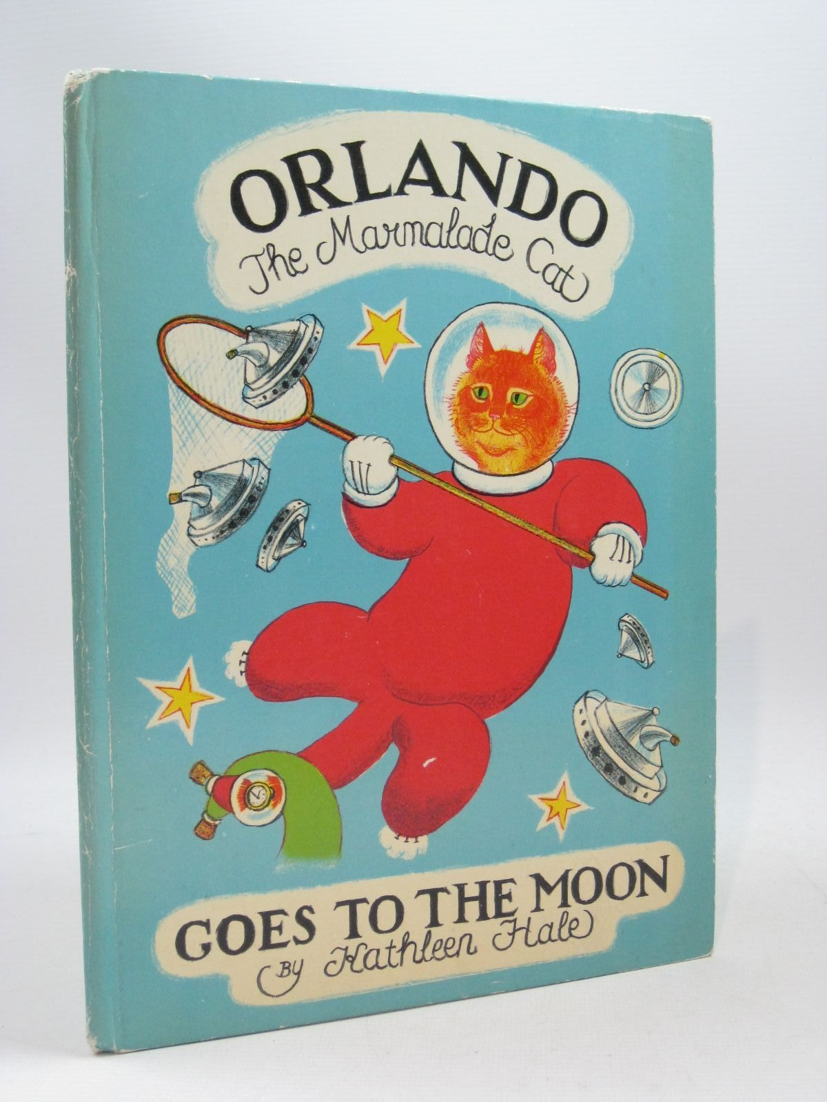 Photo of ORLANDO (THE MARMALADE CAT) GOES TO THE MOON