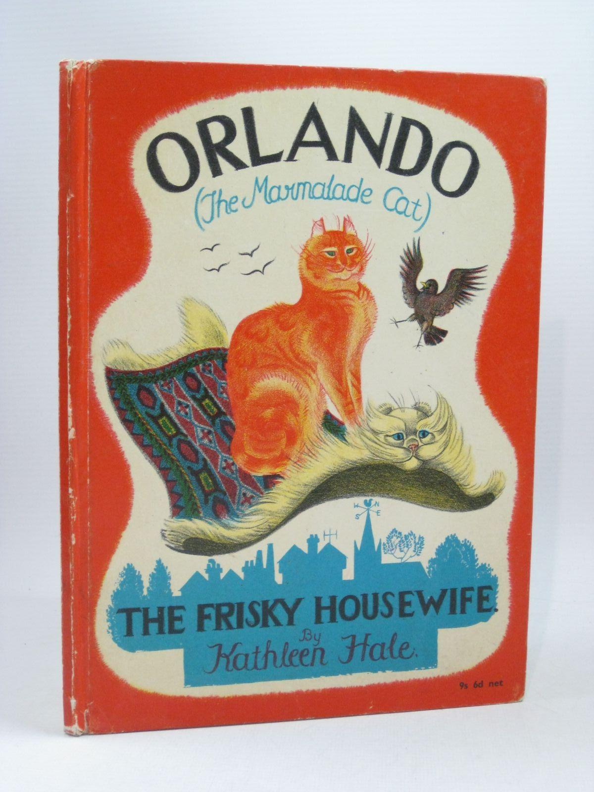Photo of ORLANDO (THE MARMALADE CAT) THE FRISKY HOUSEWIFE