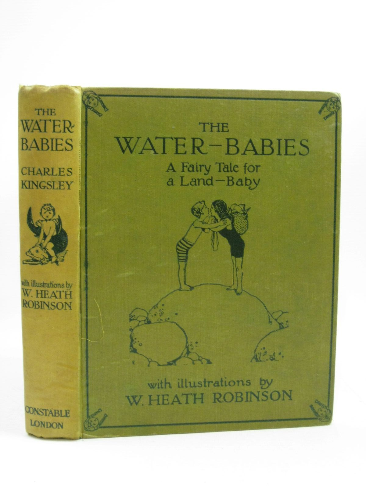 Photo of THE WATER-BABIES written by Kingsley, Charles illustrated by Robinson, W. Heath published by Constable & Co. Ltd. (STOCK CODE: 1504580)  for sale by Stella & Rose's Books