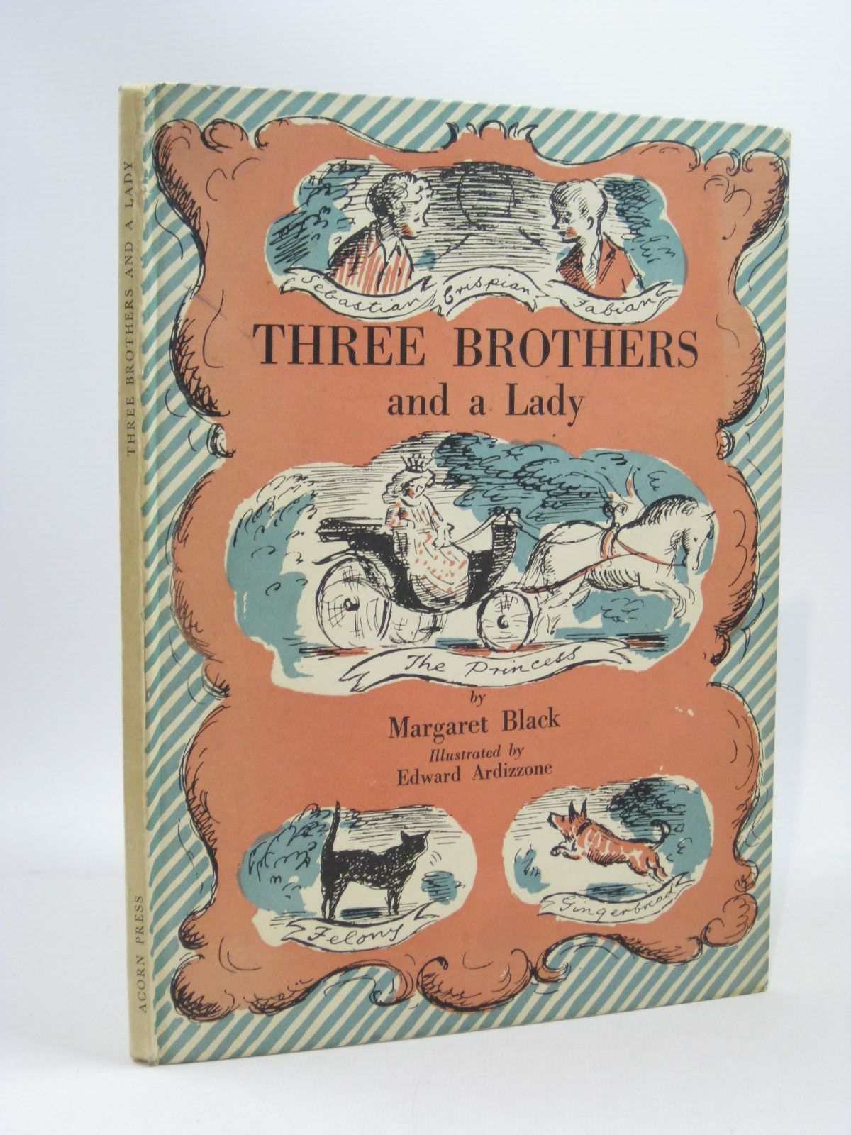 Photo of THREE BROTHERS AND A LADY written by Black, Margaret illustrated by Ardizzone, Edward published by Acorn Press (STOCK CODE: 1504623)  for sale by Stella & Rose's Books