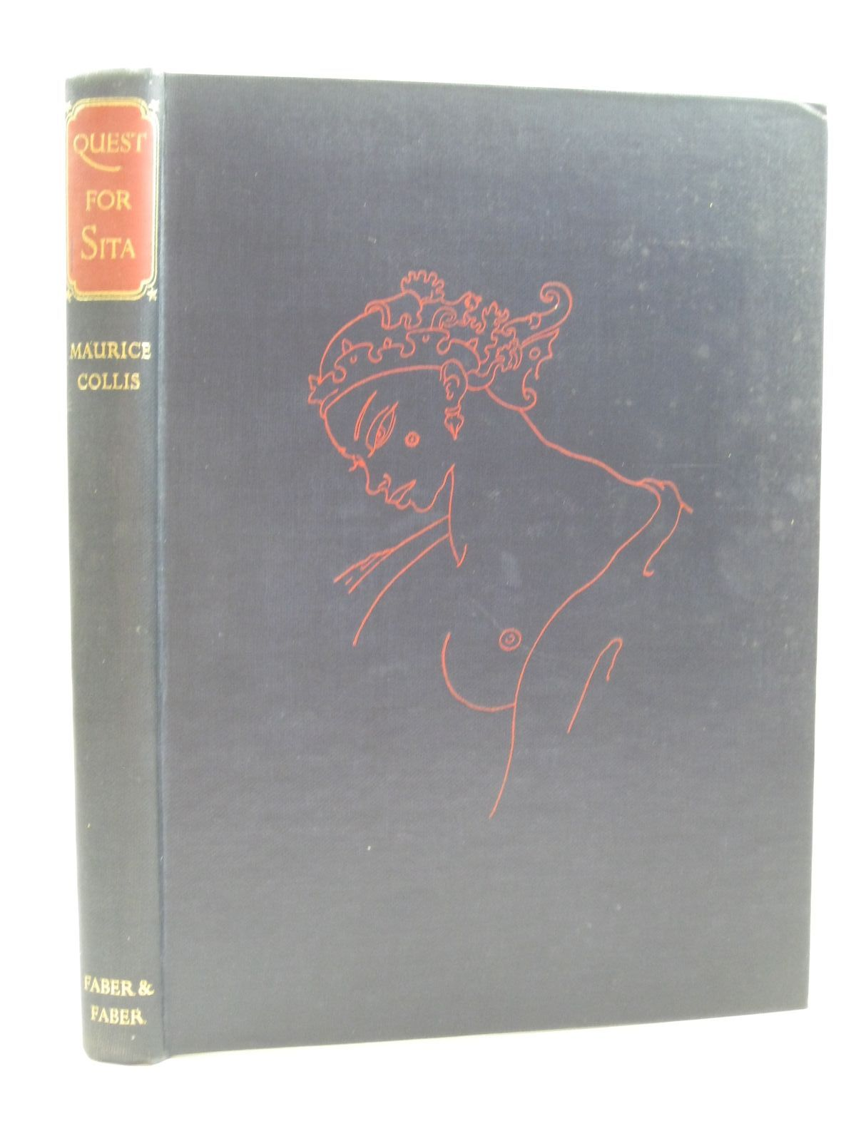 Photo of QUEST FOR SITA written by Collis, Maurice illustrated by Peake, Mervyn published by Faber & Faber Limited (STOCK CODE: 1504625)  for sale by Stella & Rose's Books
