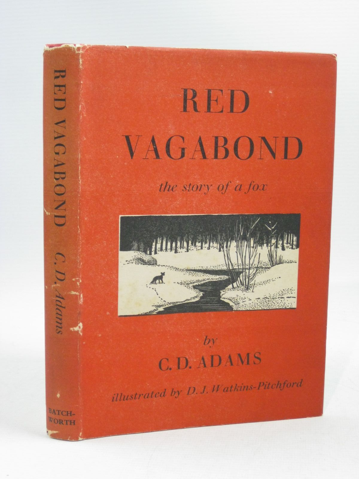 Photo of RED VAGABOND written by Adams, G.D. illustrated by BB,  published by The Batchworth Press (STOCK CODE: 1504636)  for sale by Stella & Rose's Books
