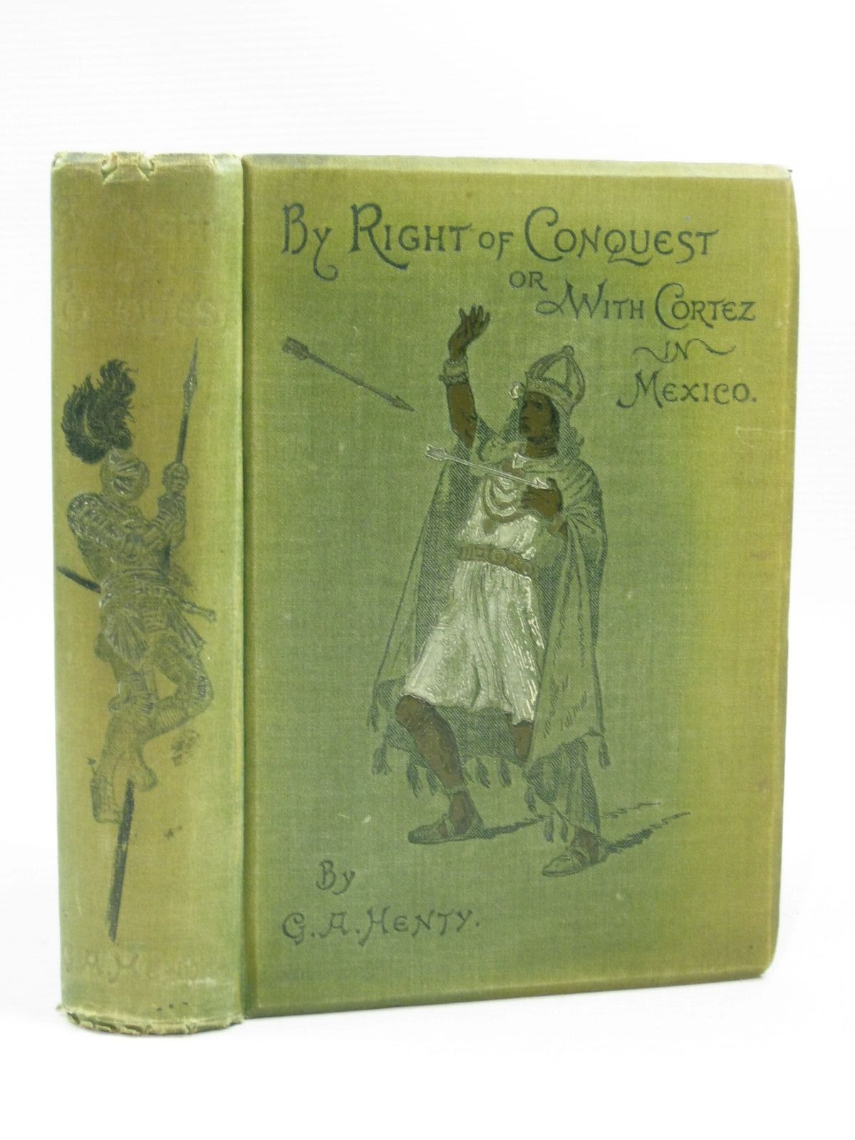 Photo of BY RIGHT OF CONQUEST written by Henty, G.A. illustrated by Stacey, W.S. published by Blackie & Son Ltd. (STOCK CODE: 1504639)  for sale by Stella & Rose's Books