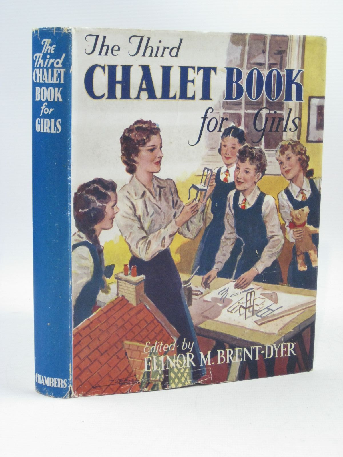 Photo of THE THIRD CHALET BOOK FOR GIRLS written by Brent-Dyer, Elinor M. published by W. & R. Chambers Limited (STOCK CODE: 1504695)  for sale by Stella & Rose's Books