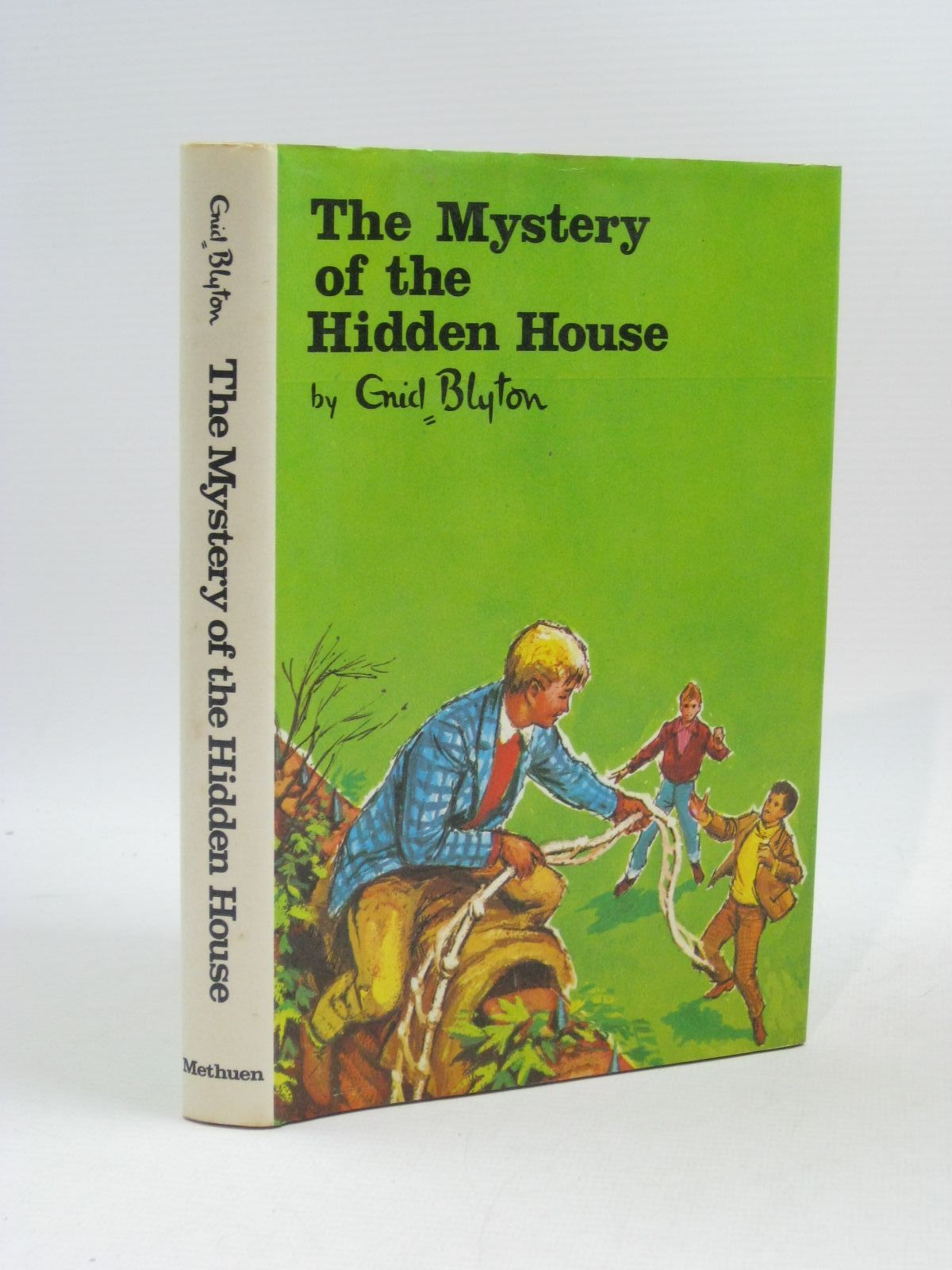 Photo of THE MYSTERY OF THE HIDDEN HOUSE written by Blyton, Enid illustrated by Gernat, Mary published by Methuen Children's Books (STOCK CODE: 1504709)  for sale by Stella & Rose's Books