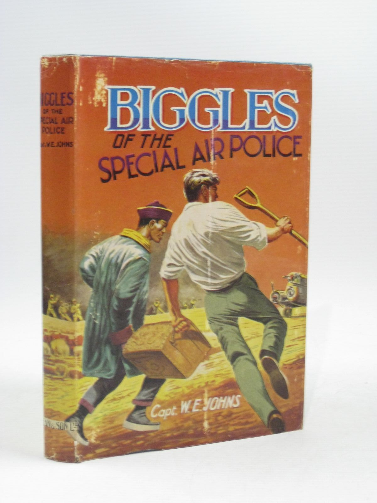 Photo of BIGGLES OF THE SPECIAL AIR POLICE written by Johns, W.E. published by Dean & Son Ltd. (STOCK CODE: 1504752)  for sale by Stella & Rose's Books