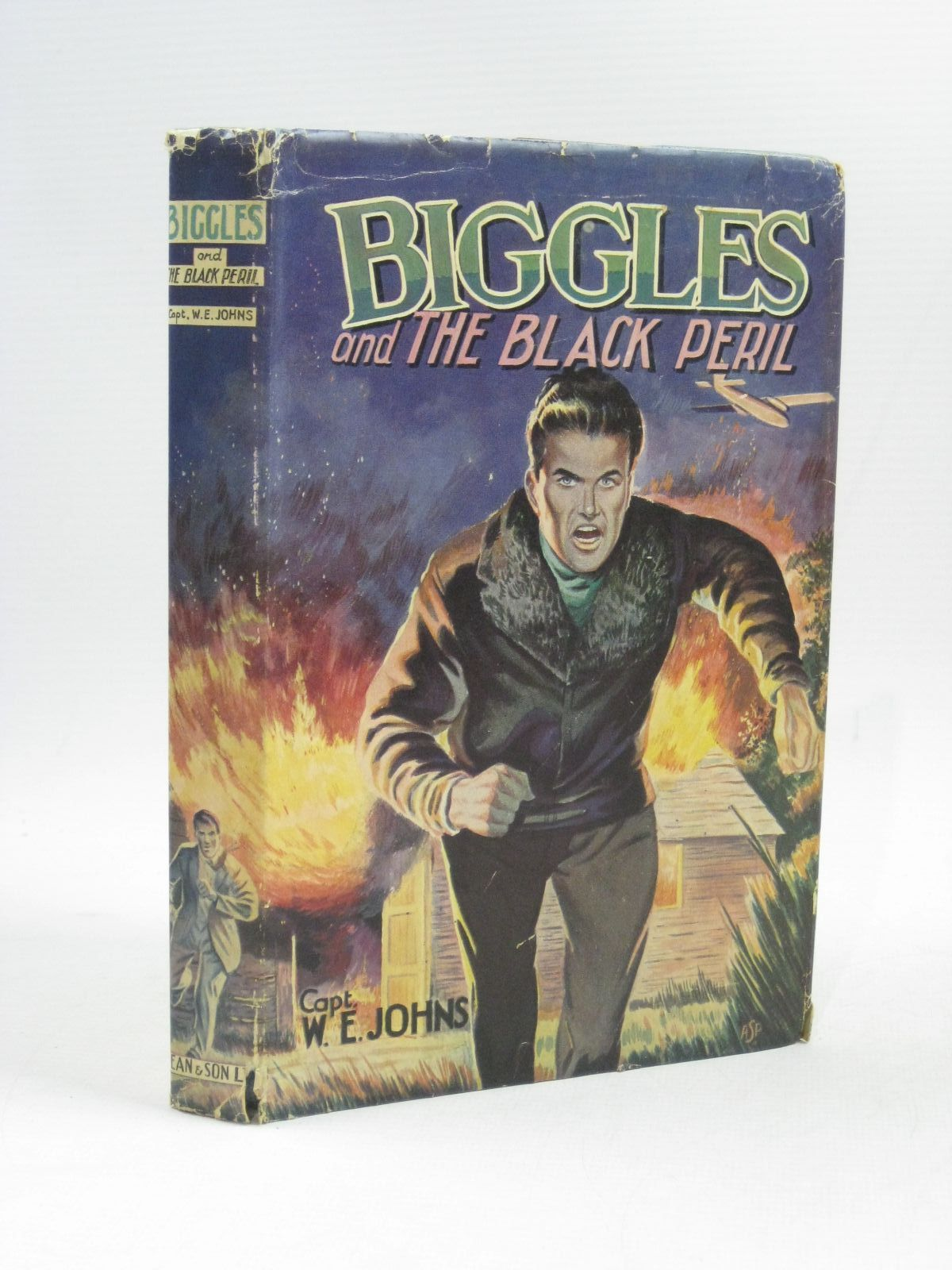 Photo of BIGGLES AND THE BLACK PERIL written by Johns, W.E. published by Dean & Son Ltd. (STOCK CODE: 1504756)  for sale by Stella & Rose's Books