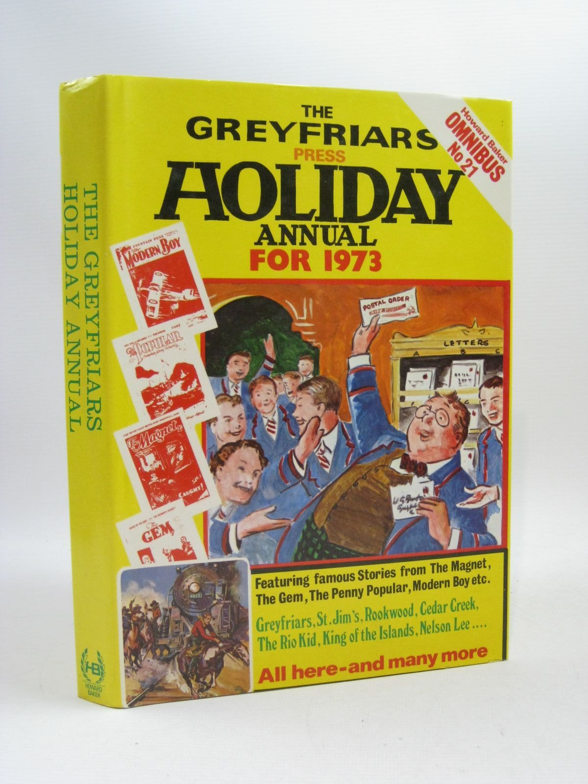 Photo of THE GREYFRIARS HOLIDAY ANNUAL FOR 1973