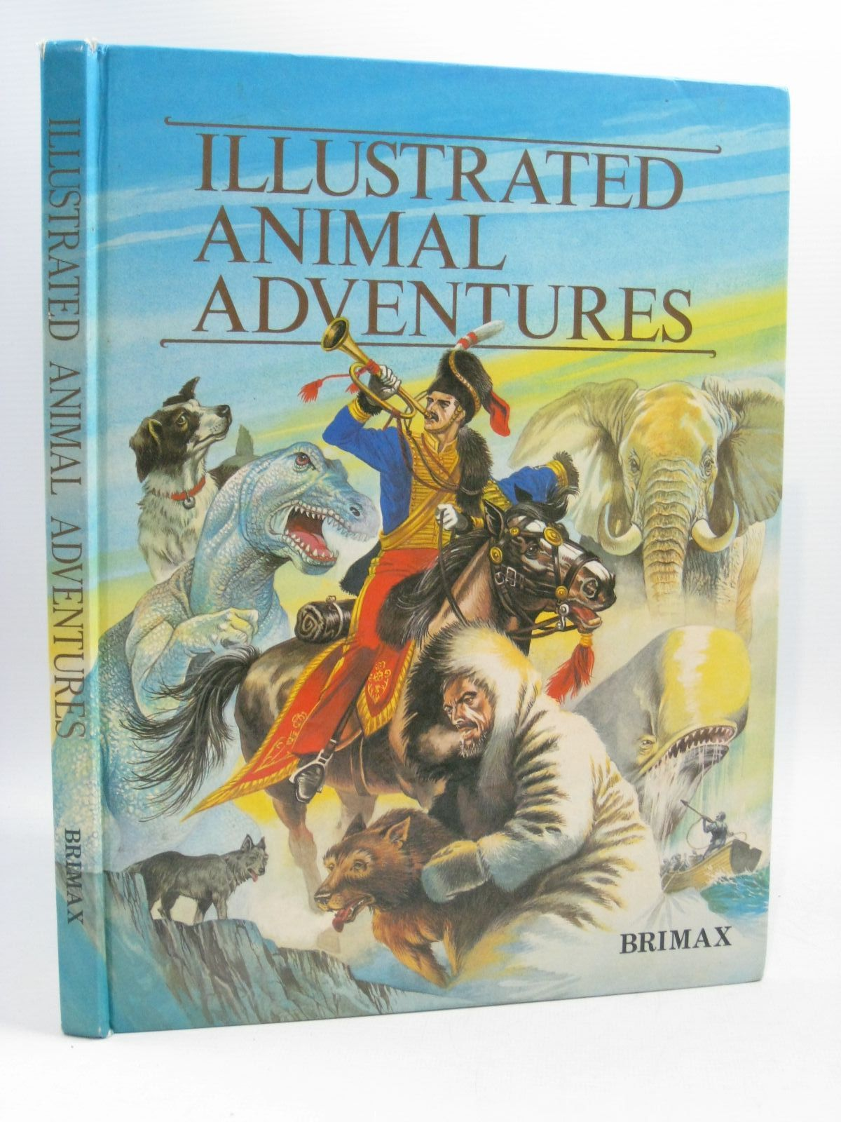 Photo of ILLUSTRATED ANIMAL ADVENTURES written by Kent, Graeme<br />Twain, Mark<br />London, Jack<br />Blackmore, R.D. illustrated by Kincaid, Eric published by Brimax Books (STOCK CODE: 1504827)  for sale by Stella & Rose's Books
