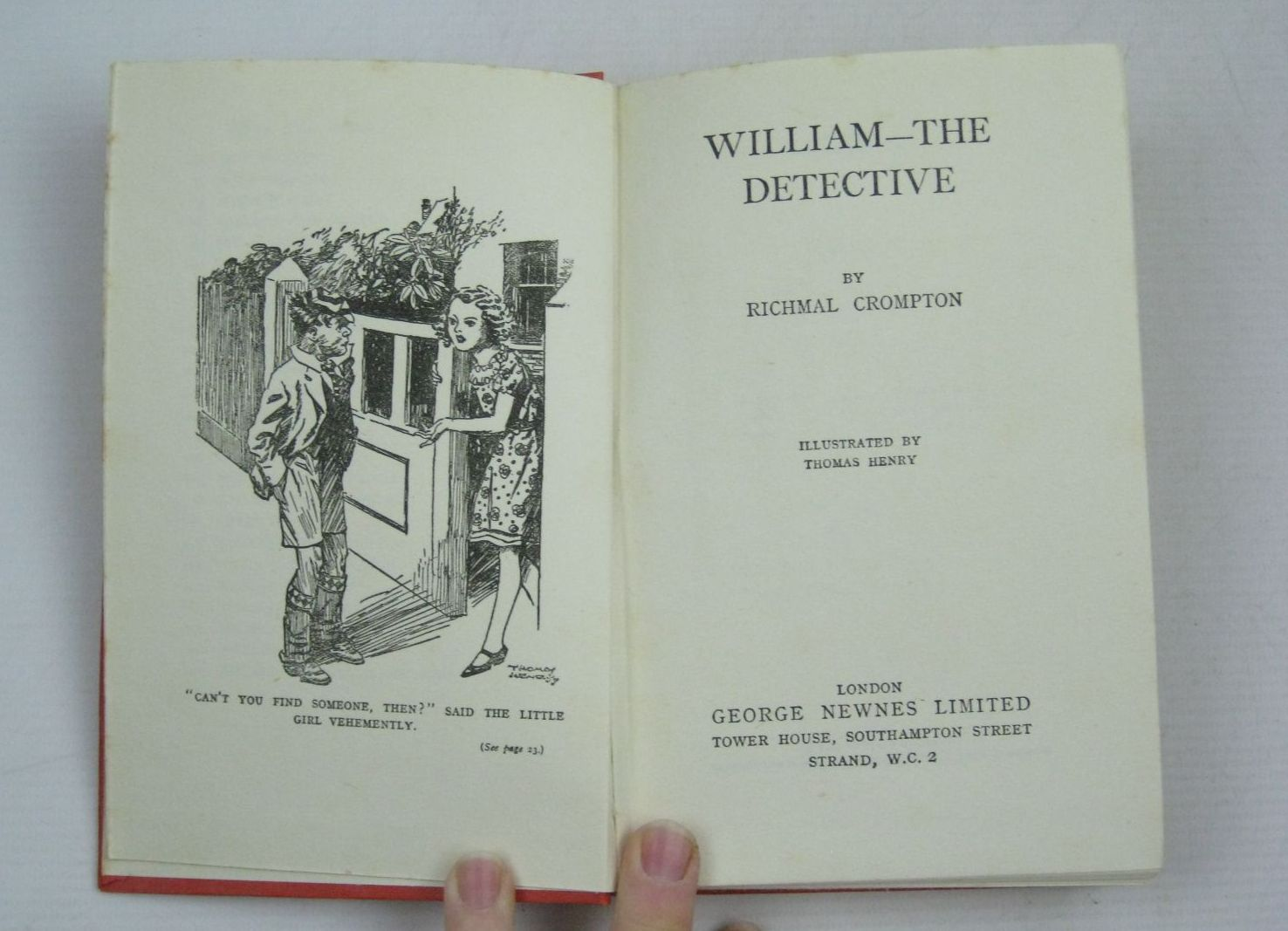 Photo of WILLIAM-THE DETECTIVE