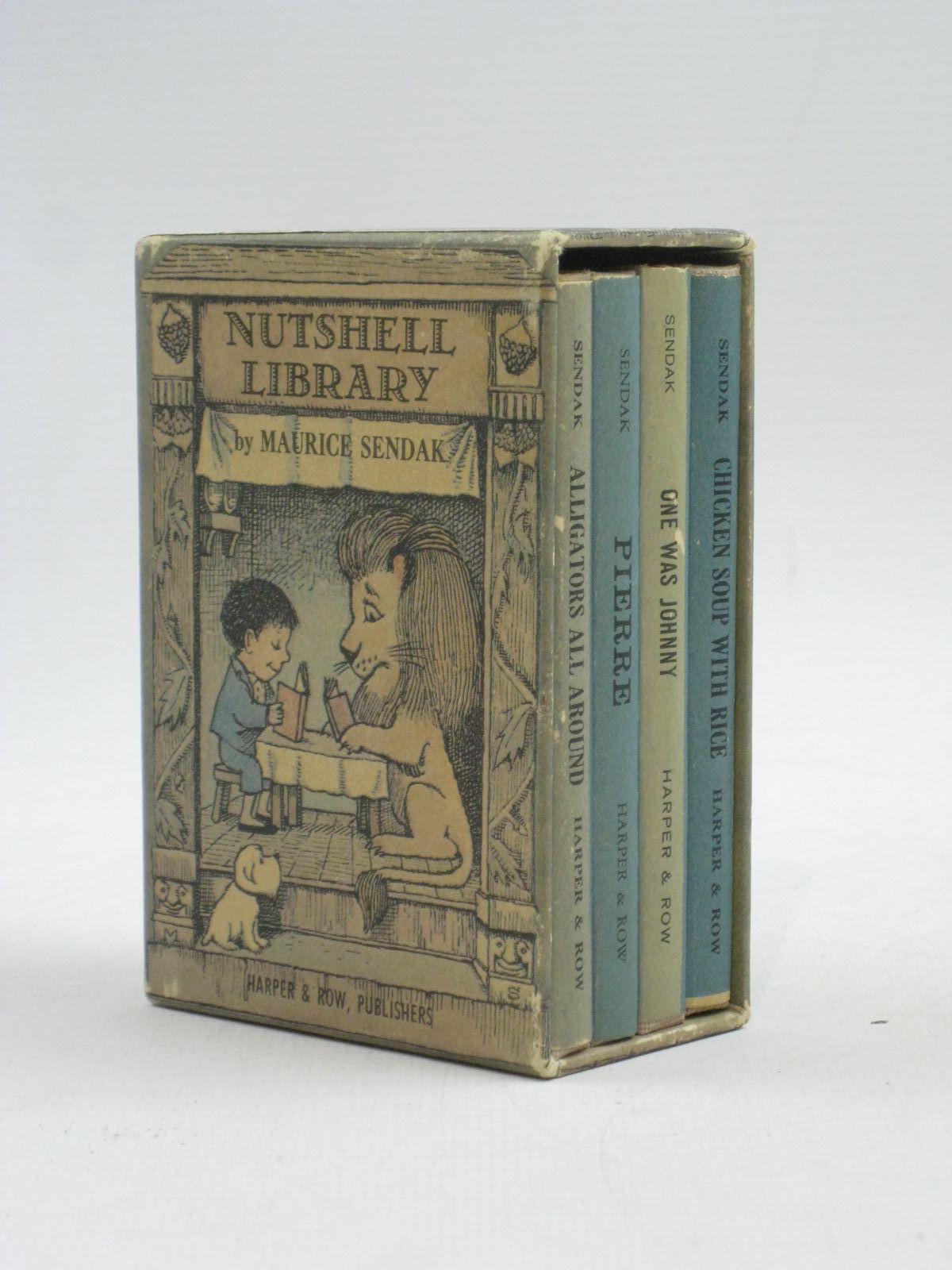 Photo of NUTSHELL LIBRARY written by Sendak, Maurice illustrated by Sendak, Maurice published by Harper & Row (STOCK CODE: 1504978)  for sale by Stella & Rose's Books