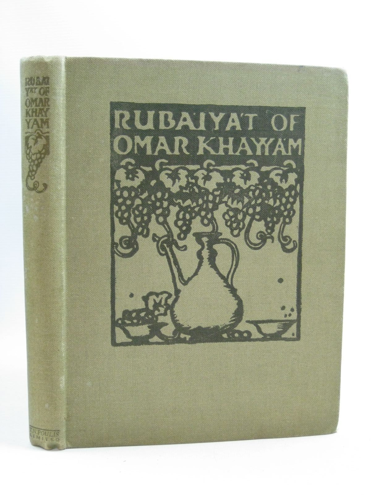 Photo of RUBAIYAT OF OMAR KHAYYAM written by Fitzgerald, Edward illustrated by Brangwyn, Frank published by T.N. Foulis (STOCK CODE: 1505034)  for sale by Stella & Rose's Books