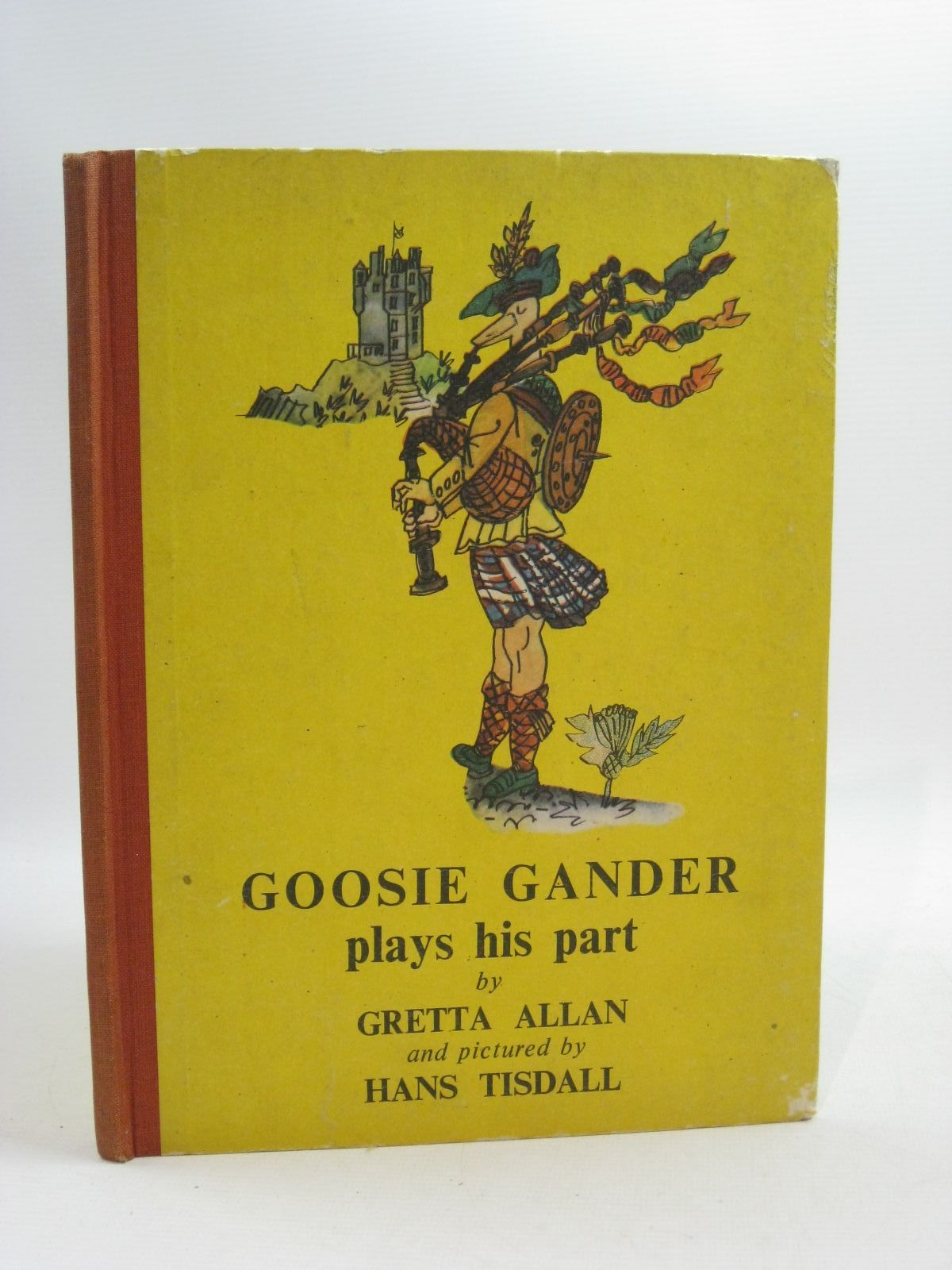 Photo of GOOSIE GANDER PLAYS HIS PART written by Allan, Gretta illustrated by Tisdall, Hans published by Frederick Muller Limited (STOCK CODE: 1505059)  for sale by Stella & Rose's Books