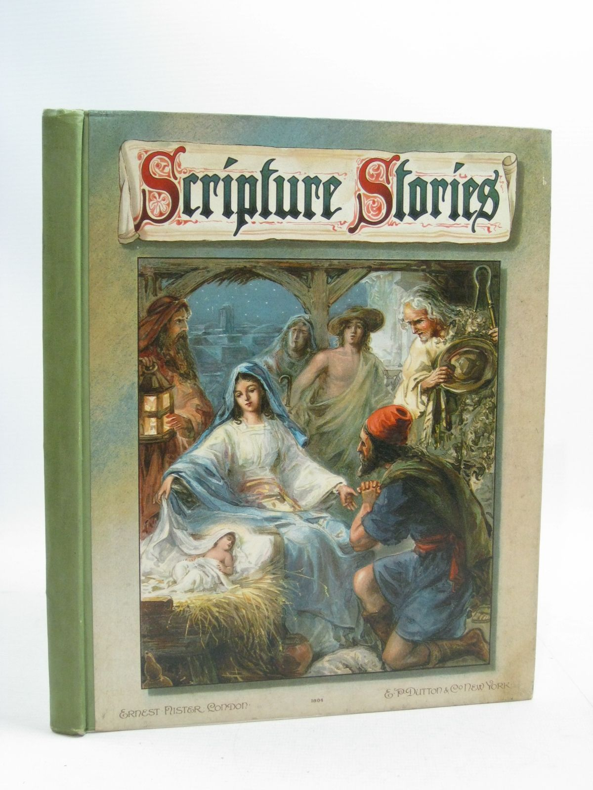 Photo of SCRIPTURE STORIES illustrated by Nister, Ernest<br />Dore, Gustave<br />et al., published by Ernest Nister (STOCK CODE: 1505084)  for sale by Stella & Rose's Books