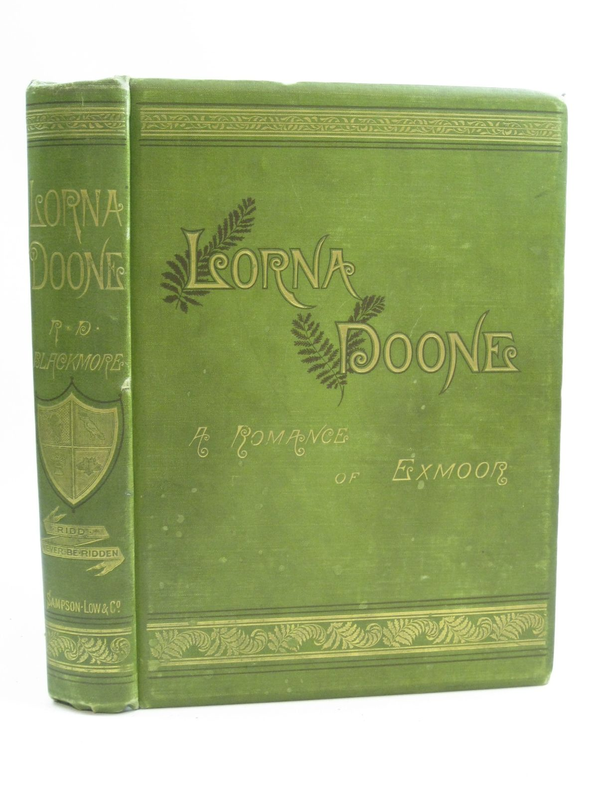Photo of LORNA DOONE written by Blackmore, R.D. illustrated by Armstrong, F.<br />Small, W.<br />Boot, William Henry James published by Sampson Low, Marston, Searle, & Rivington (STOCK CODE: 1505090)  for sale by Stella & Rose's Books