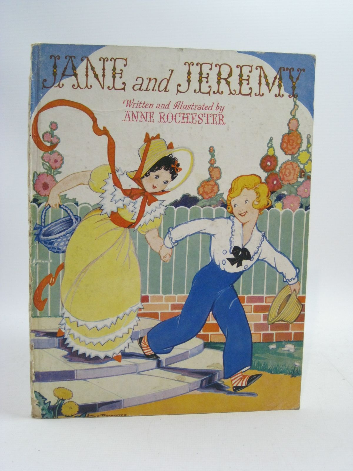 Photo of JANE AND JEREMY written by Rochester, Anne illustrated by Rochester, Anne published by Standard Art Book Co. Ltd. (STOCK CODE: 1505094)  for sale by Stella & Rose's Books