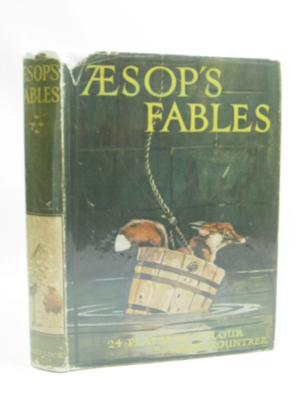 Photo of AESOP'S FABLES written by Aesop,<br />Winder, Blanche illustrated by Rountree, Harry published by Ward Lock & Co Ltd. (STOCK CODE: 1505099)  for sale by Stella & Rose's Books