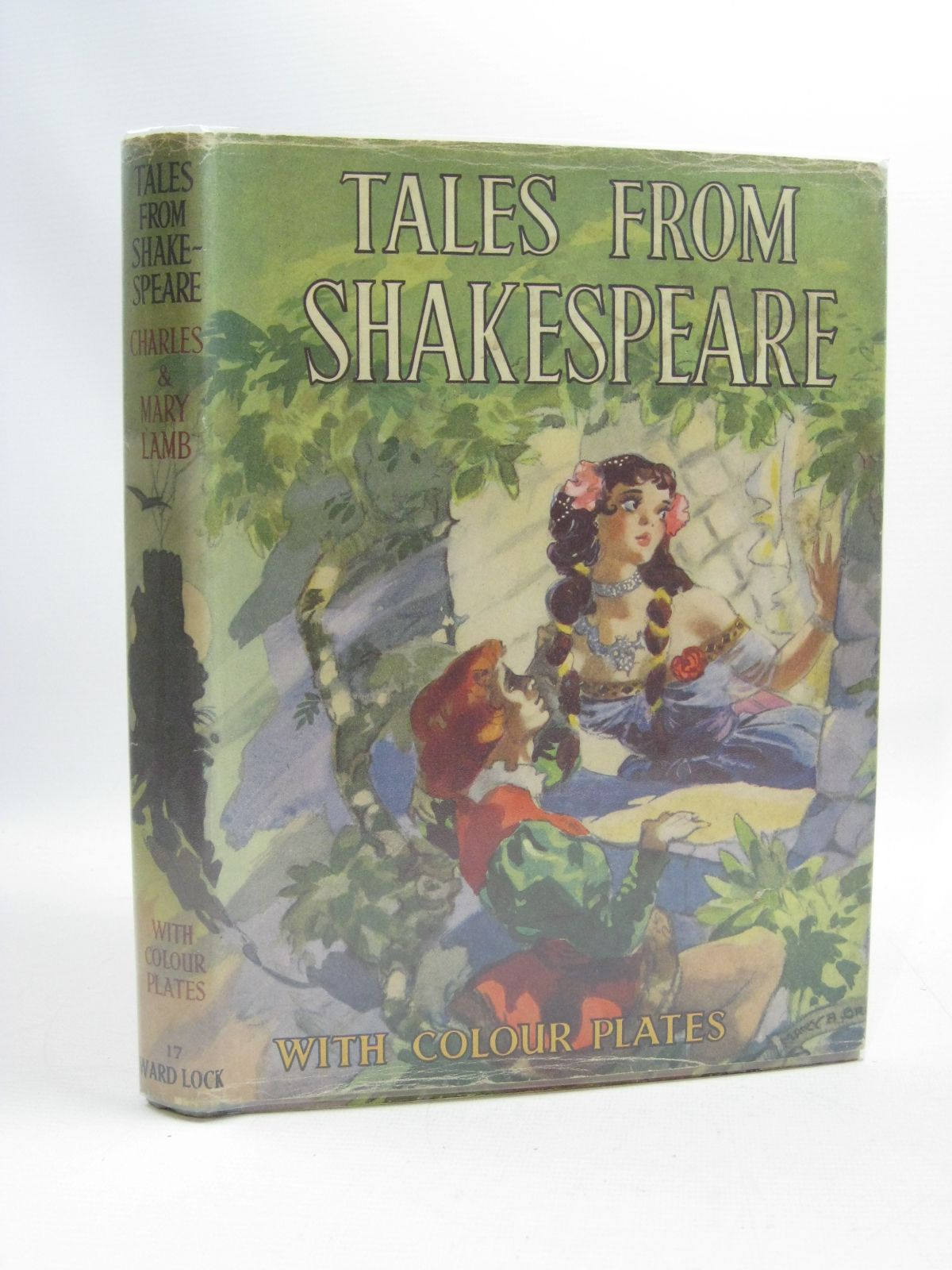 Photo of TALES FROM SHAKESPEARE written by Lamb, Charles illustrated by Jackson, A.E. published by Ward, Lock & Co. Ltd. (STOCK CODE: 1505110)  for sale by Stella & Rose's Books