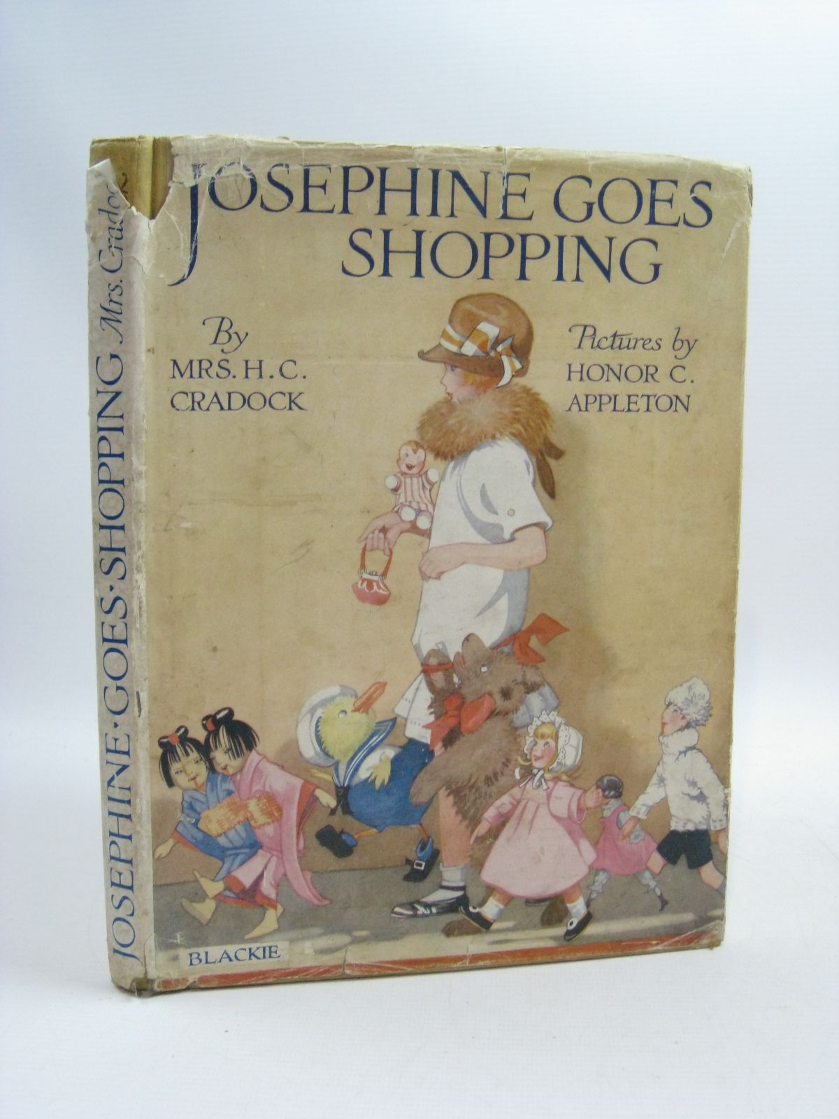 Photo of JOSEPHINE GOES SHOPPING written by Cradock, Mrs. H.C. illustrated by Appleton, Honor C. published by Blackie & Son Ltd. (STOCK CODE: 1505135)  for sale by Stella & Rose's Books