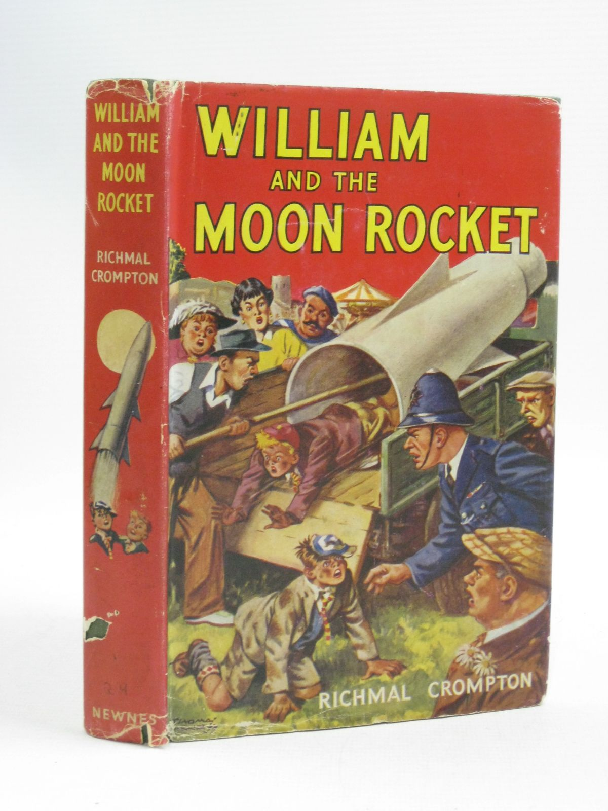 Photo of WILLIAM AND THE MOON ROCKET- Stock Number: 1505145