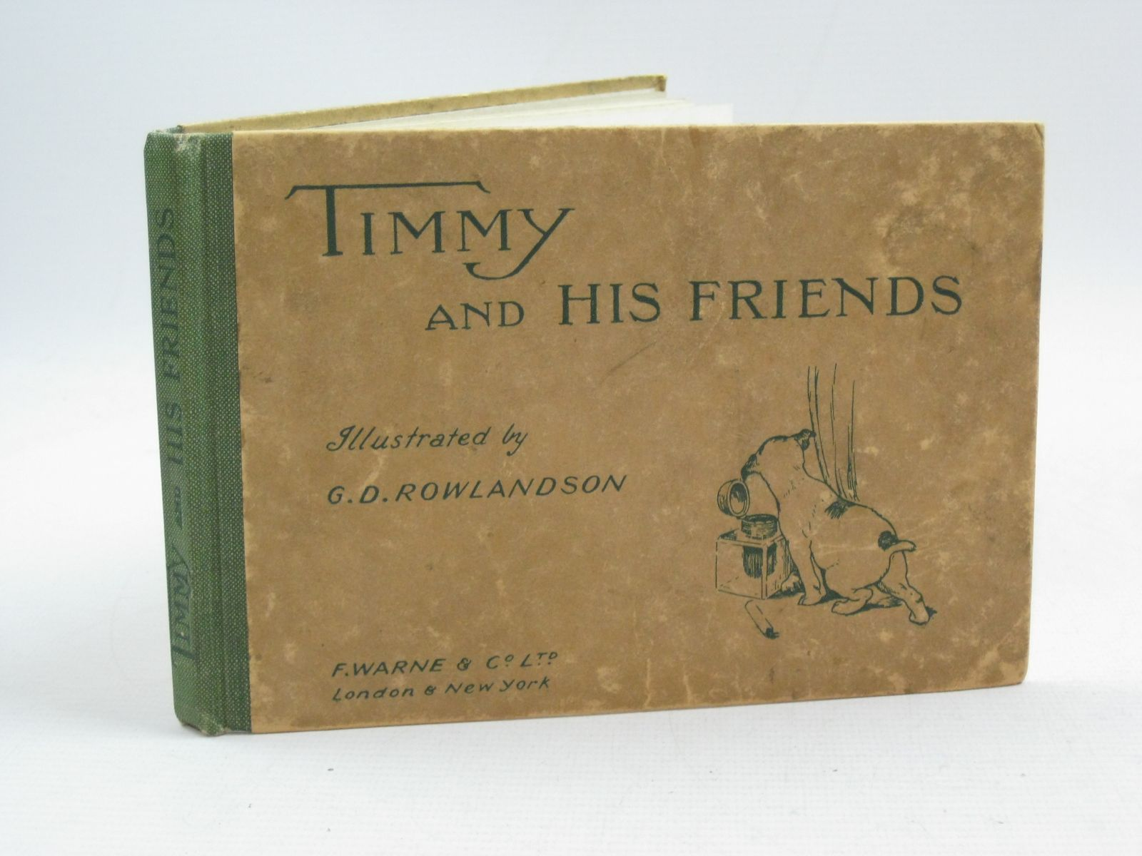 Photo of TIMMY AND HIS FRIENDS illustrated by Rowlandson, G.D. published by Frederick Warne & Co Ltd. (STOCK CODE: 1505156)  for sale by Stella & Rose's Books