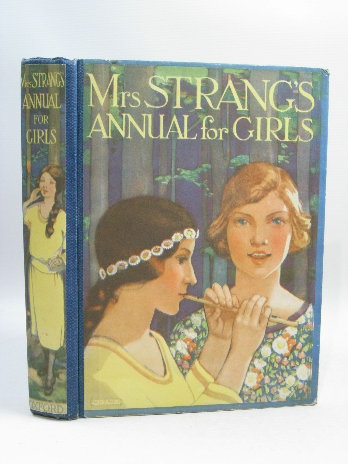 Photo of MRS. STRANG'S ANNUAL FOR GIRLS written by Francklyn, Phillippa<br />Stowell, Thora<br />Bruce, Dorita Fairlie<br />Darch, Winifred<br />et al,  published by Humphrey Milford, Oxford University Press (STOCK CODE: 1505231)  for sale by Stella & Rose's Books