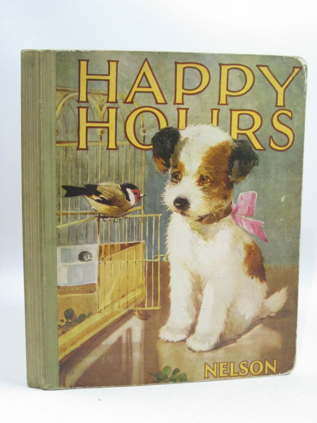 Photo of HAPPY HOURS illustrated by Appleton, Honor C.<br />Adams, Frank<br />Kennedy, A.E.<br />Osborne, D.<br />et al., published by Nelson (STOCK CODE: 1505238)  for sale by Stella & Rose's Books