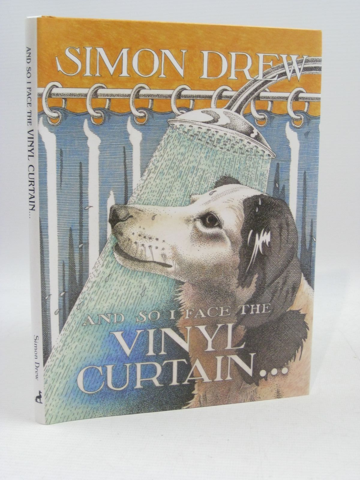 Photo of AND SO I FACE THE VINYL CURTAIN written by Drew, Simon illustrated by Drew, Simon published by Antique Collectors' Club (STOCK CODE: 1505242)  for sale by Stella & Rose's Books