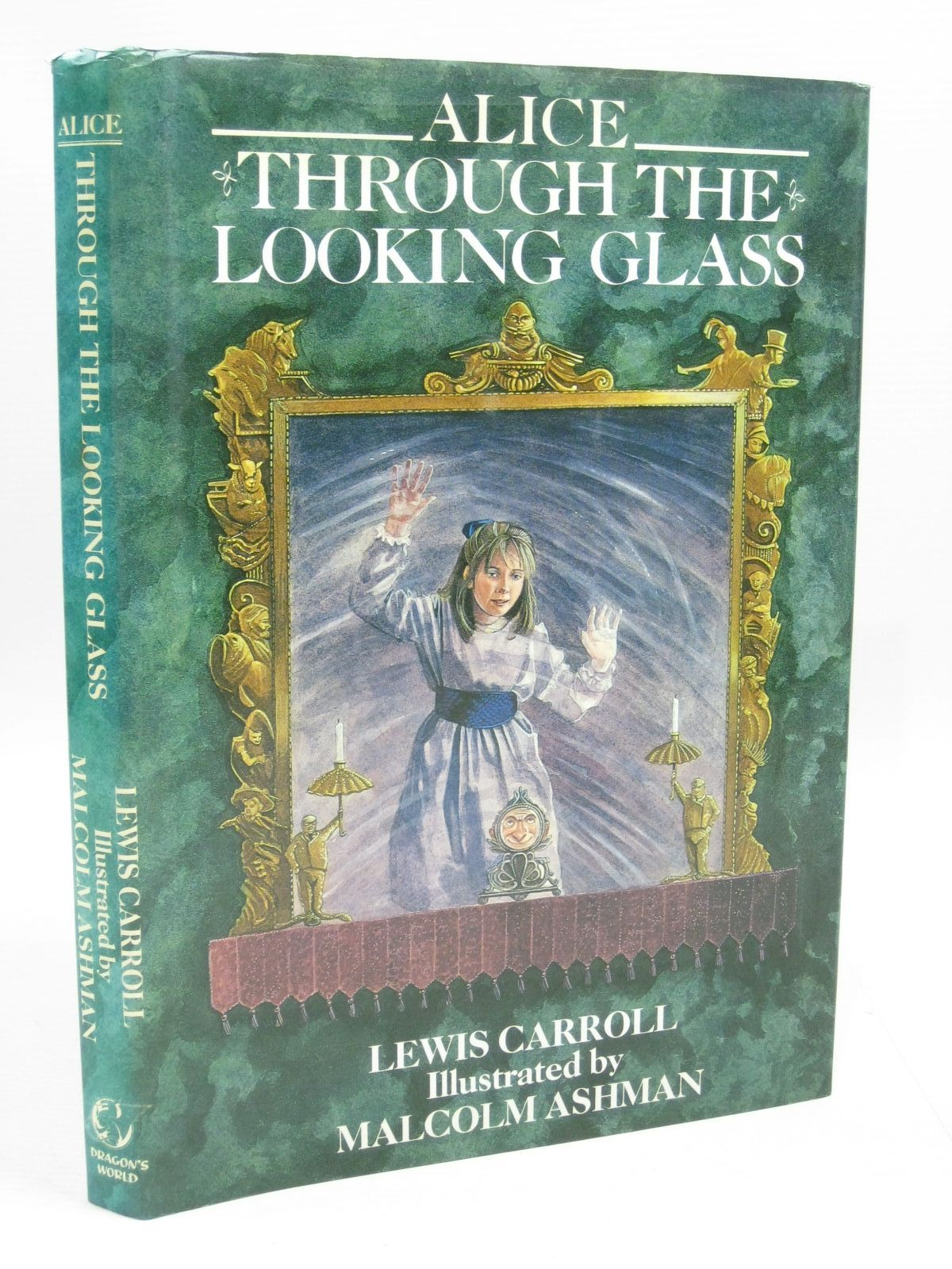Photo of ALICE THROUGH THE LOOKING GLASS written by Carroll, Lewis illustrated by Ashman, Malcolm published by Dragon's World (STOCK CODE: 1505247)  for sale by Stella & Rose's Books