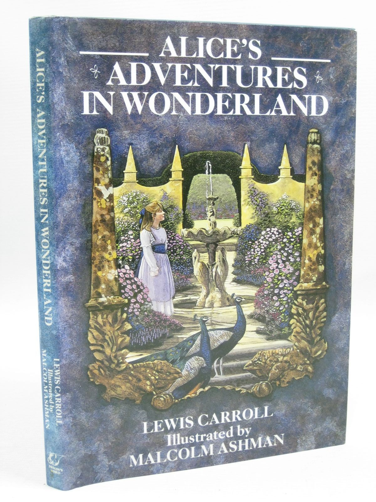 Photo of ALICE'S ADVENTURES IN WONDERLAND written by Carroll, Lewis illustrated by Ashman, Malcolm published by Dragon's World (STOCK CODE: 1505248)  for sale by Stella & Rose's Books