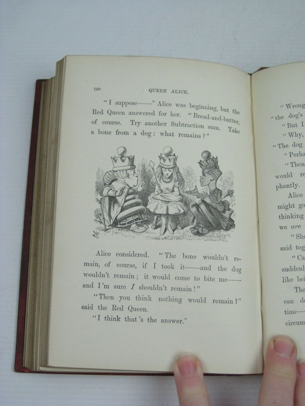 Photo of THROUGH THE LOOKING-GLASS AND WHAT ALICE FOUND THERE written by Carroll, Lewis illustrated by Tenniel, John published by Macmillan & Co. (STOCK CODE: 1505270)  for sale by Stella & Rose's Books