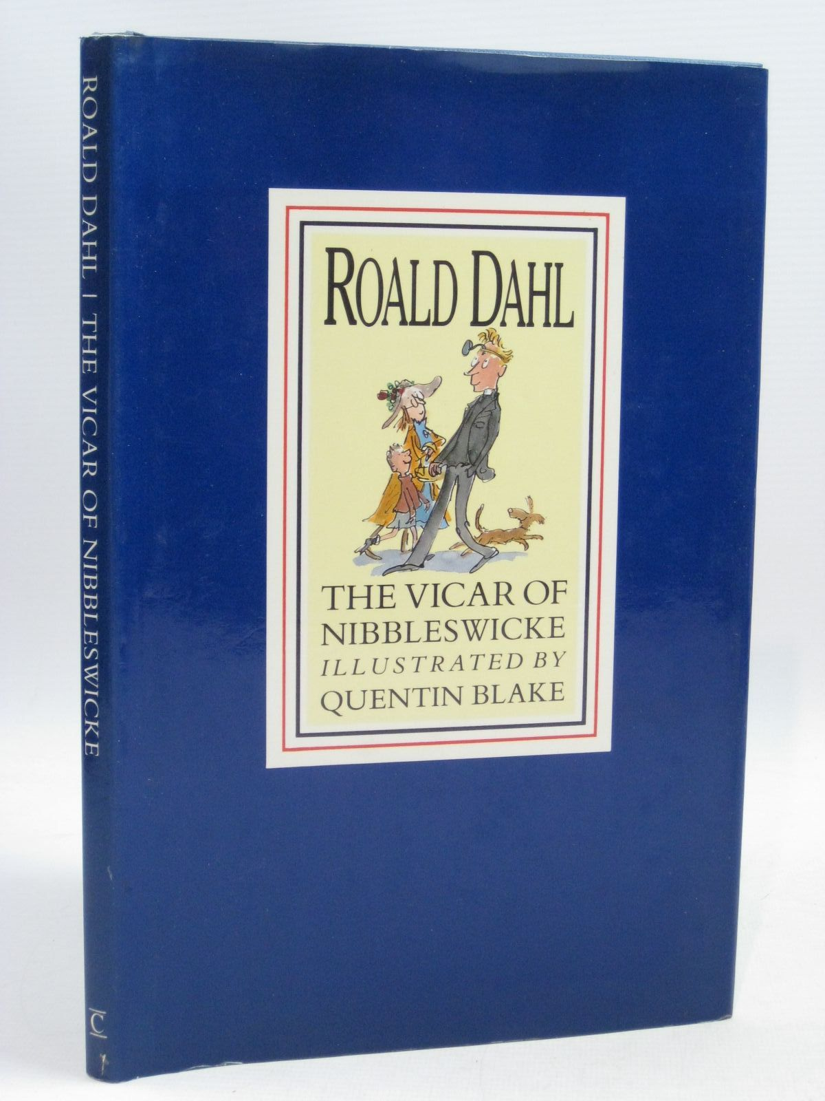 Photo of THE VICAR OF NIBBLESWICKE written by Dahl, Roald illustrated by Blake, Quentin published by Century Publishing (STOCK CODE: 1505320)  for sale by Stella & Rose's Books