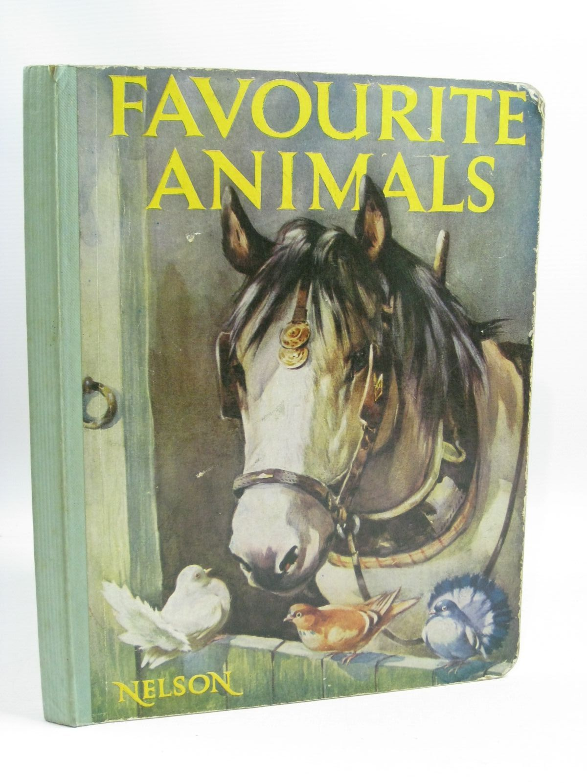 Photo of FAVOURITE ANIMALS illustrated by Woolley, Harry published by Thomas Nelson and Sons Ltd. (STOCK CODE: 1505325)  for sale by Stella & Rose's Books