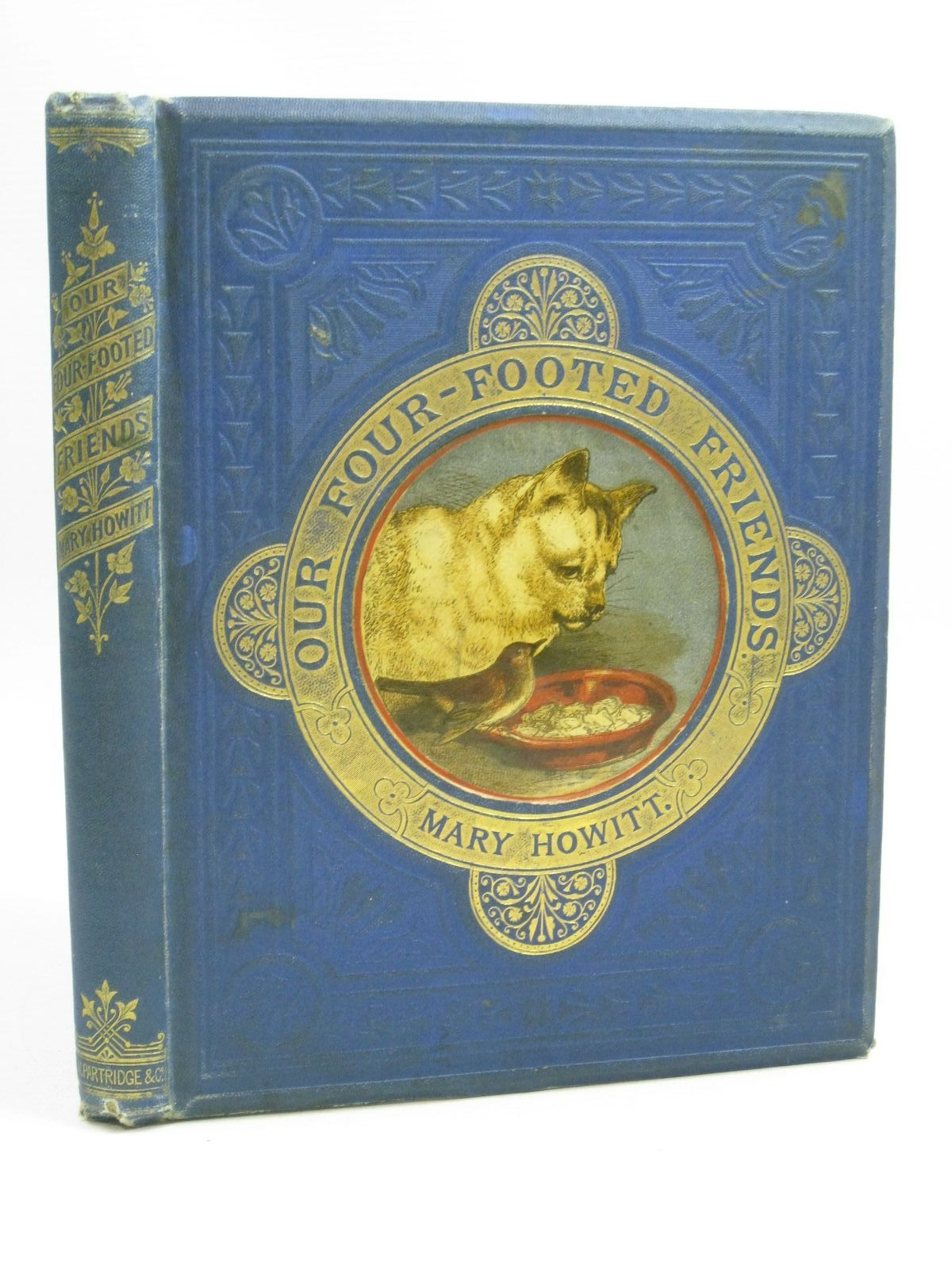 Photo of OUR FOUR-FOOTED FRIENDS written by Howitt, Mary published by S.W. Partridge & Co. (STOCK CODE: 1505329)  for sale by Stella & Rose's Books